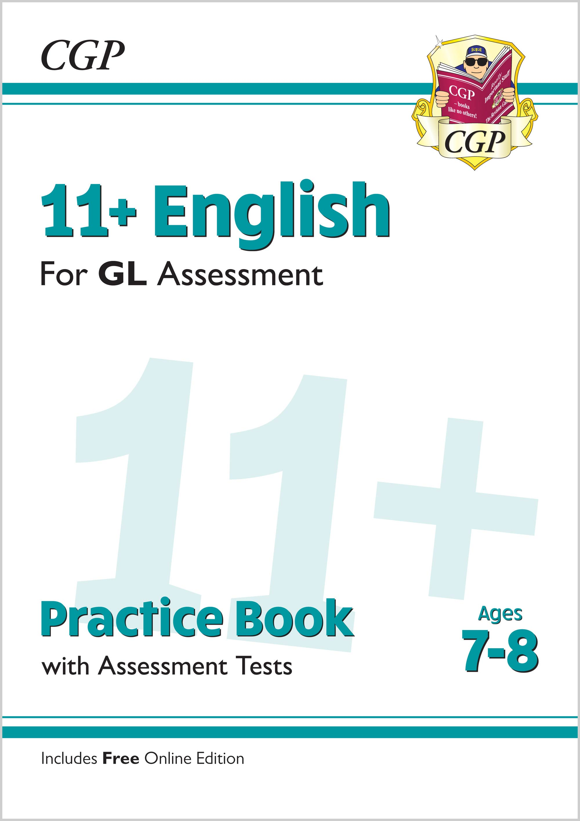E3QE2 - 11+ GL English Practice Book & Assessment Tests - Ages 7-8 (with Online Edition)