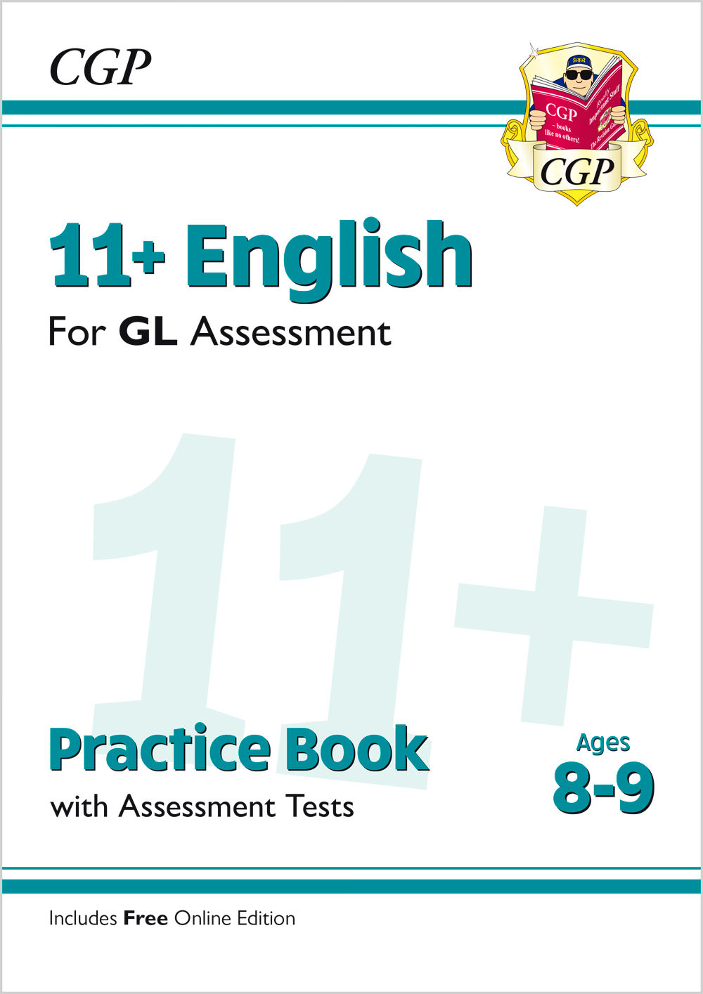 E4QE2 - New 11+ GL English Practice Book & Assessment Tests - Ages 8-9 (with Online Edition)
