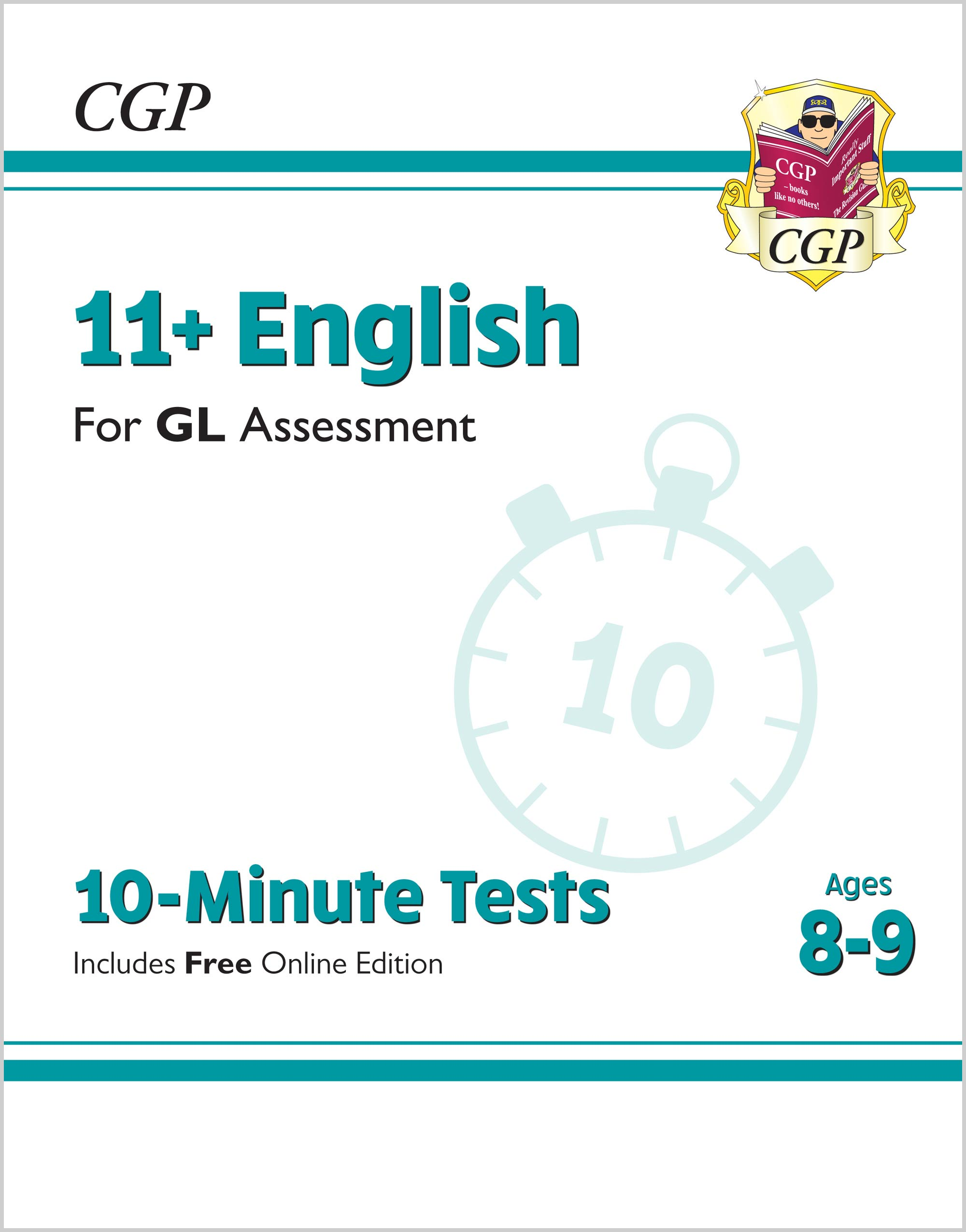 E4XPE2 - 11+ GL 10-Minute Tests: English - Ages 8-9 (with Online Edition)