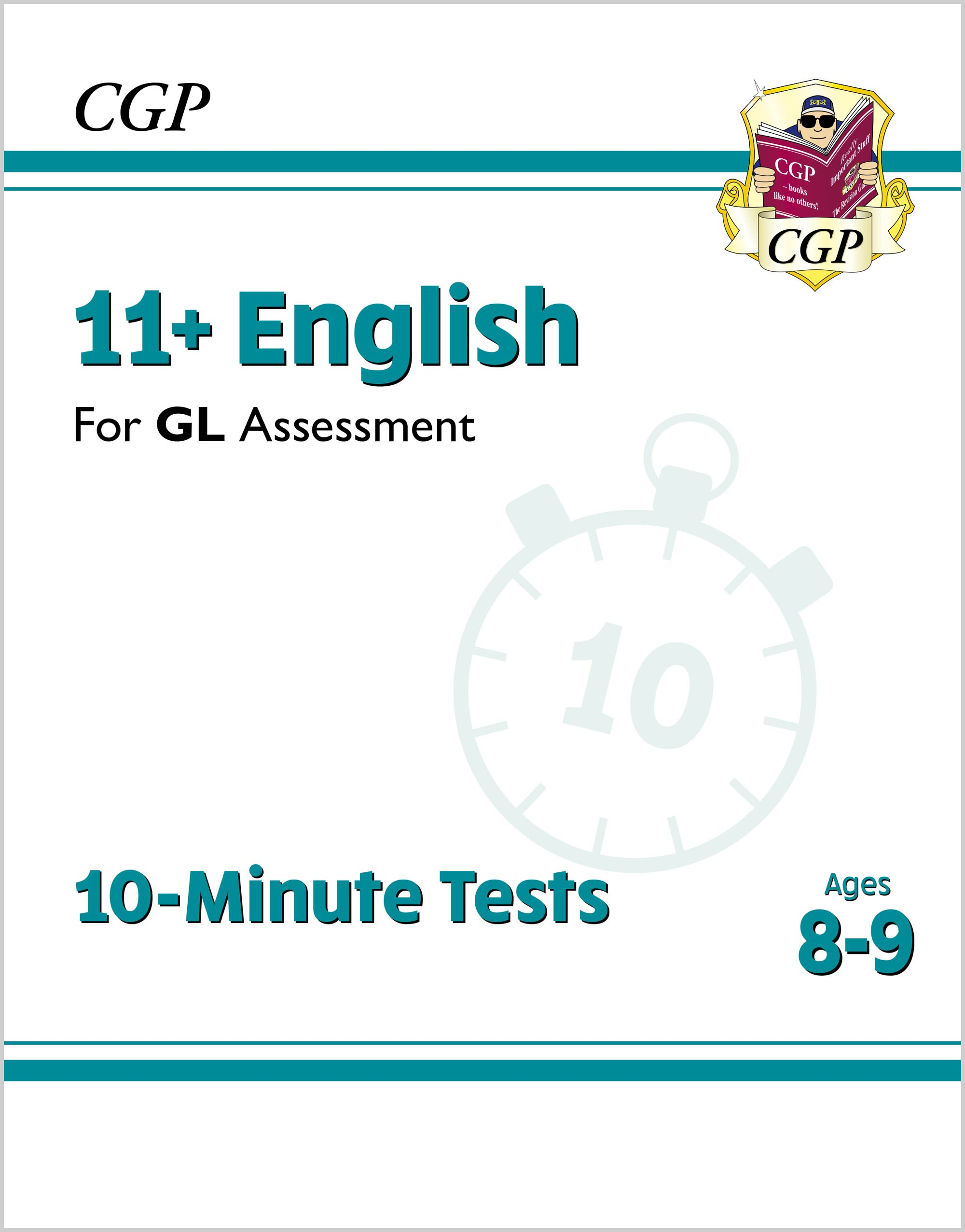 E4XPE2DK - New 11+ GL 10-Minute Tests: English - Ages 8-9 (with Online Edition)