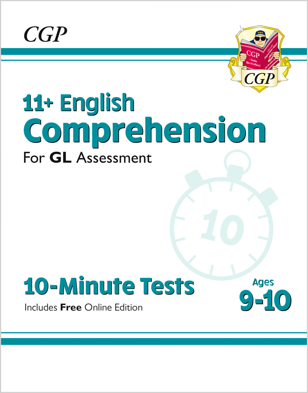 E5CXPE1 - New 11+ GL 10-Minute Tests: English Comprehension - Ages 9-10 (with Online Edition)