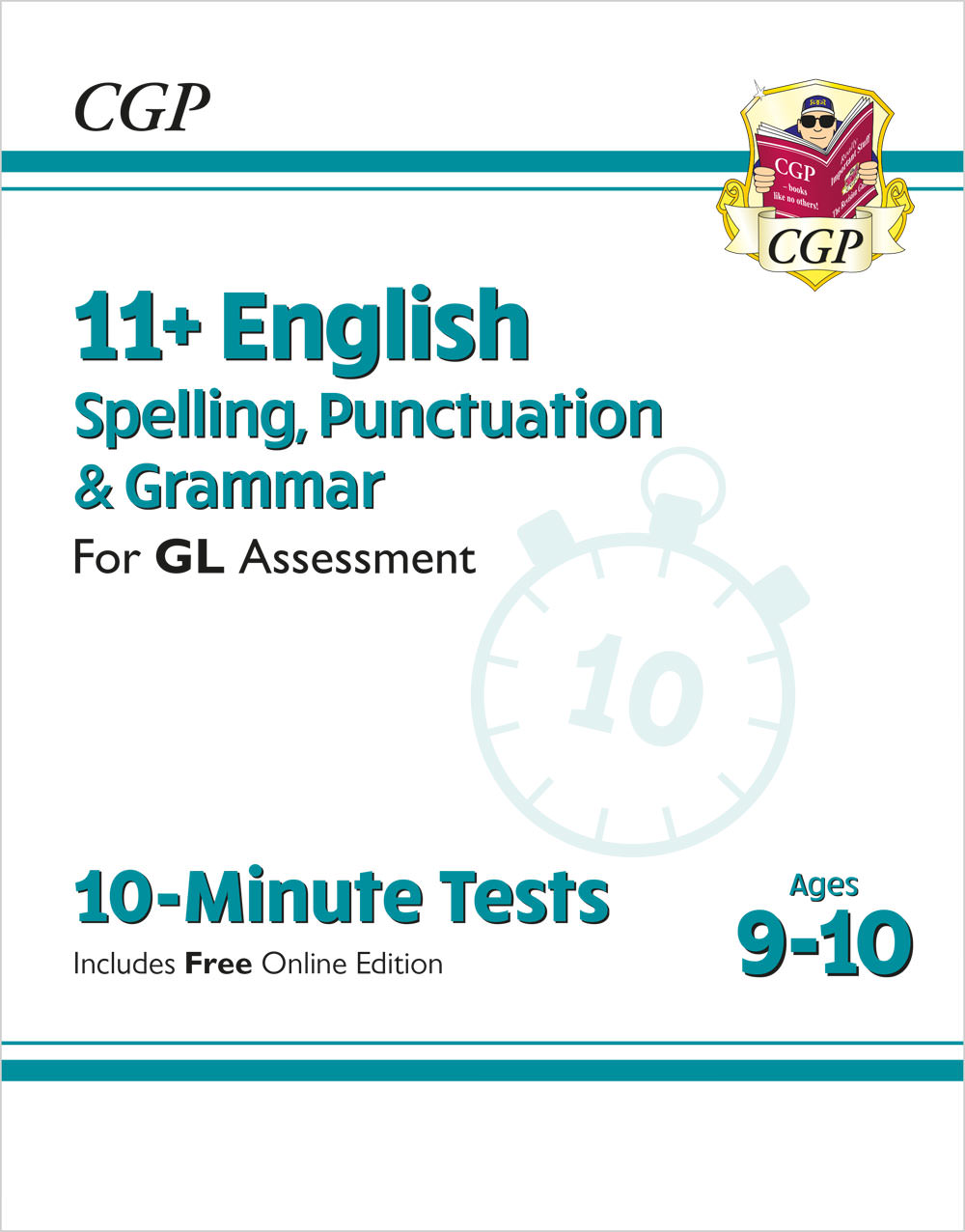 E5GXPE1 - 11+ GL 10-Minute Tests: English Spelling, Punctuation & Grammar - Ages 9-10 (with Onl Ed)