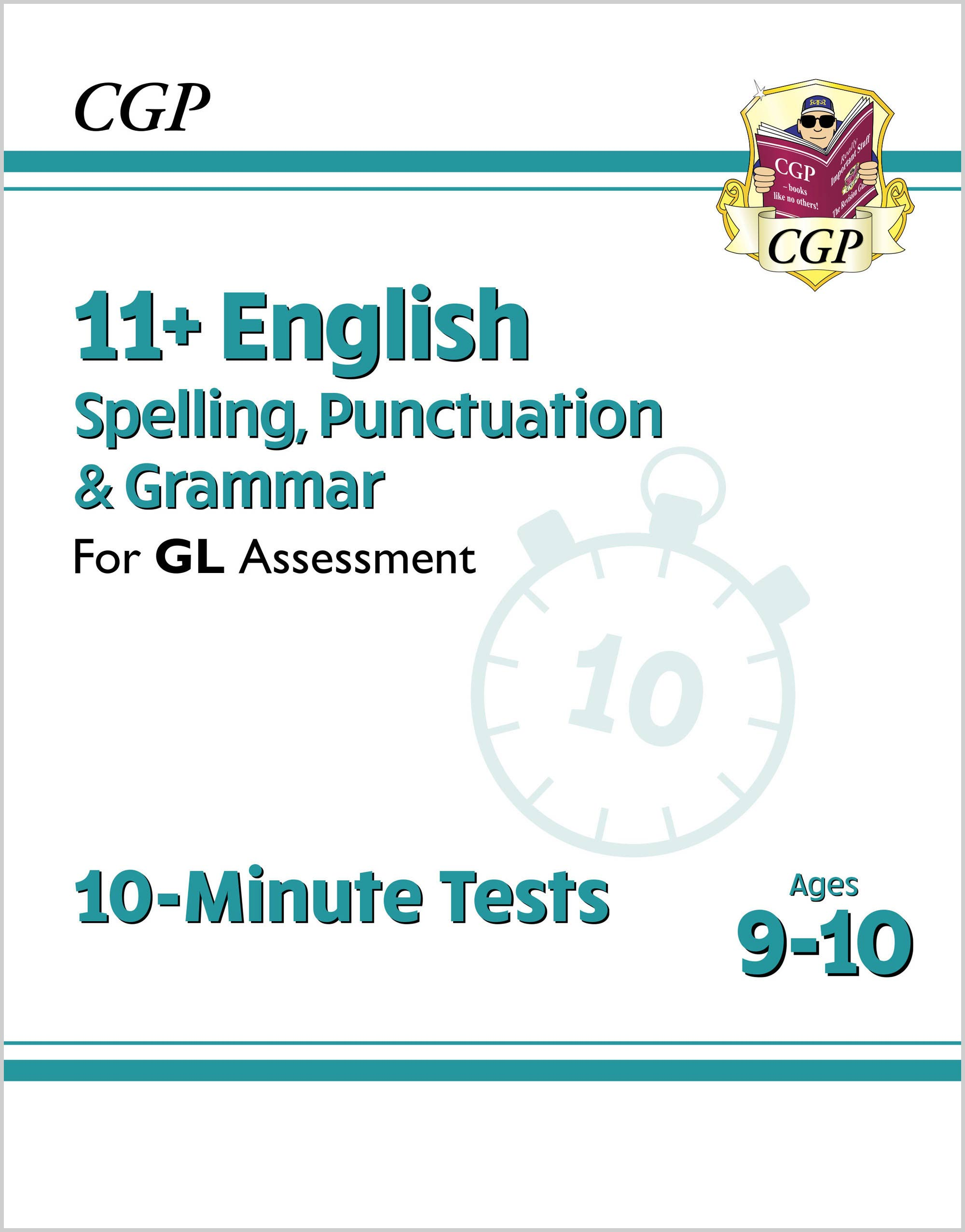 E5GXPE1DK - 11+ GL 10-Minute Tests: English Spelling, Punctuation & Grammar - Ages 9-10 (with Onl Ed