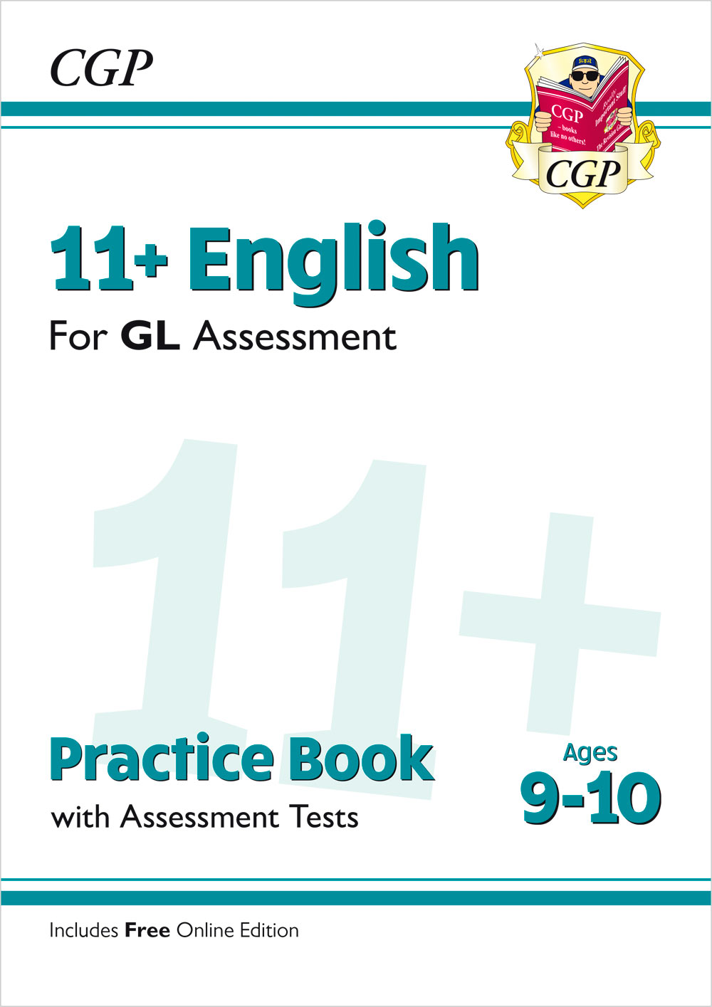 E5QE2 - New 11+ GL English Practice Book & Assessment Tests - Ages 9-10 (with Online Edition)