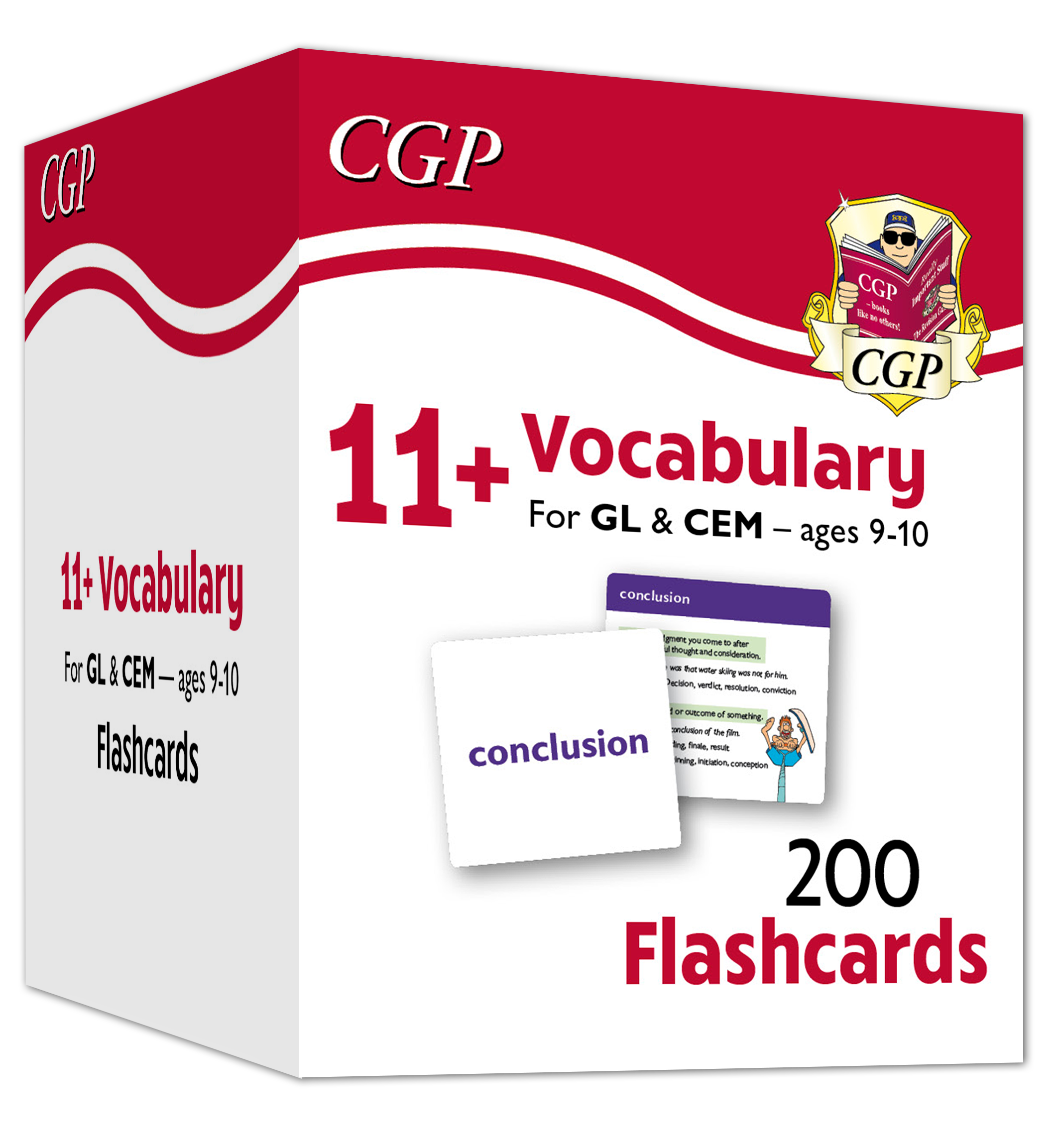 E5VFE1 - New 11+ Vocabulary Flashcards - Ages 9-10