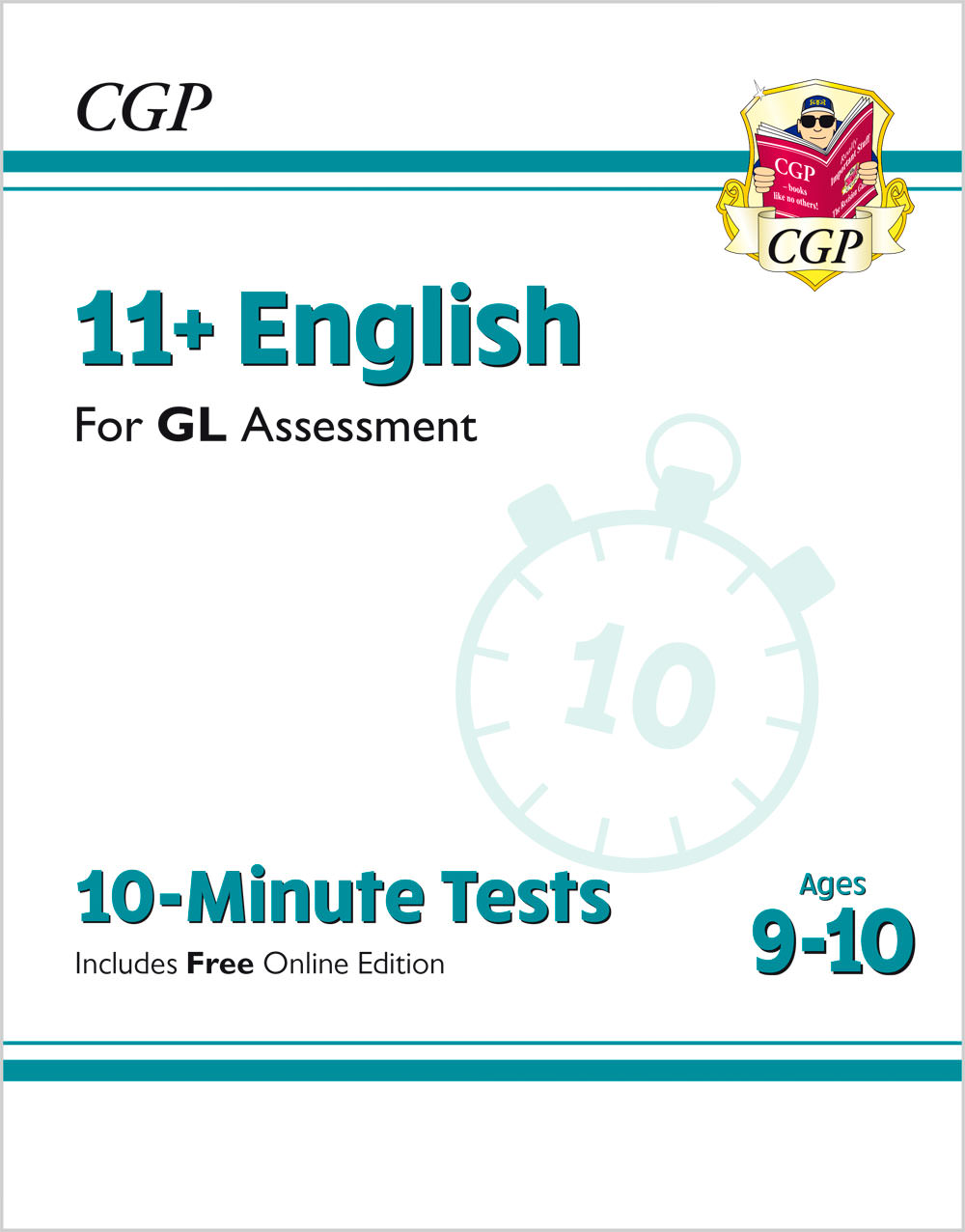 E5XPE2 - New 11+ GL 10-Minute Tests: English - Ages 9-10 (with Online Edition)