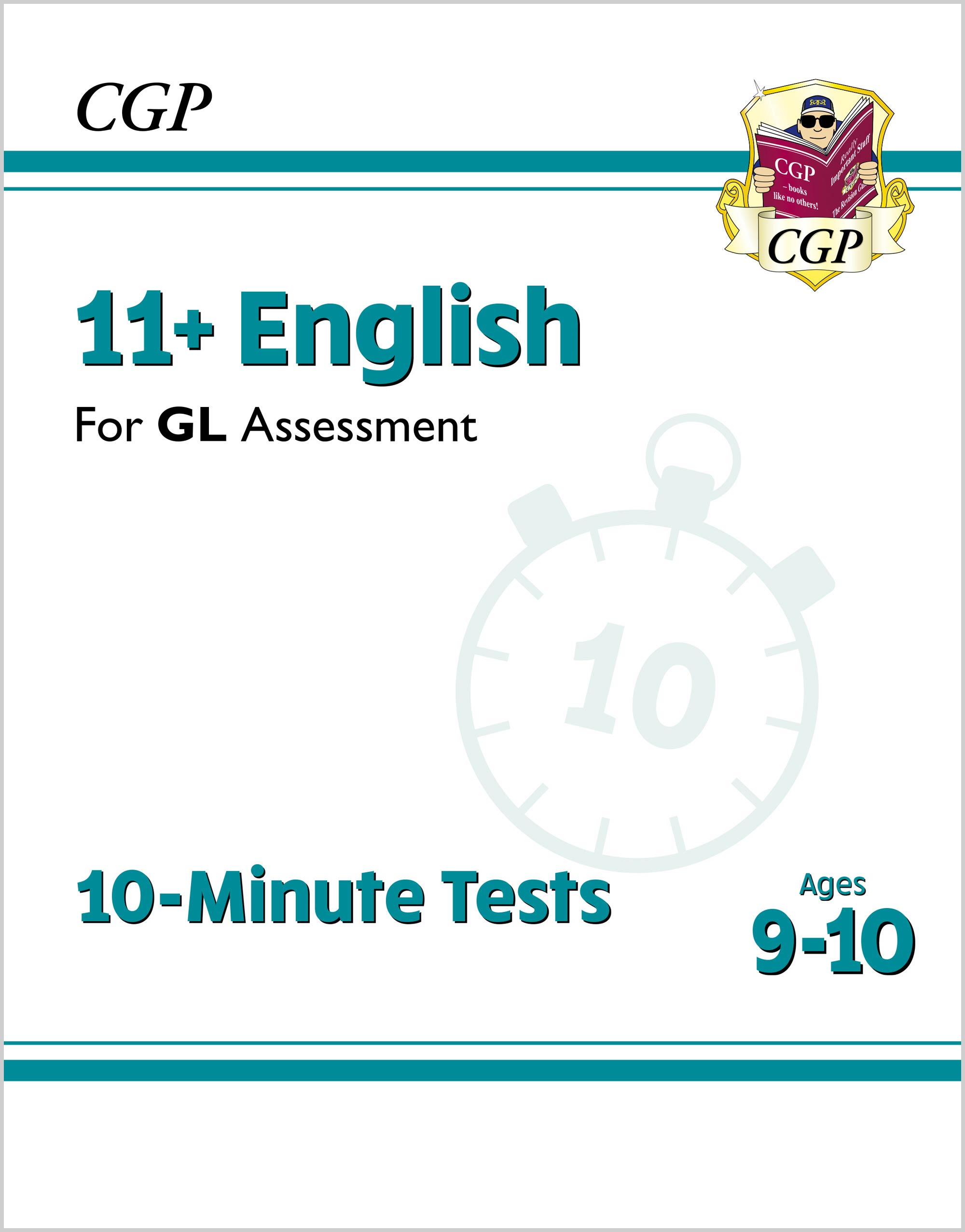 E5XPE2DK - New 11+ GL 10-Minute Tests: English - Ages 9-10 (with Online Edition)