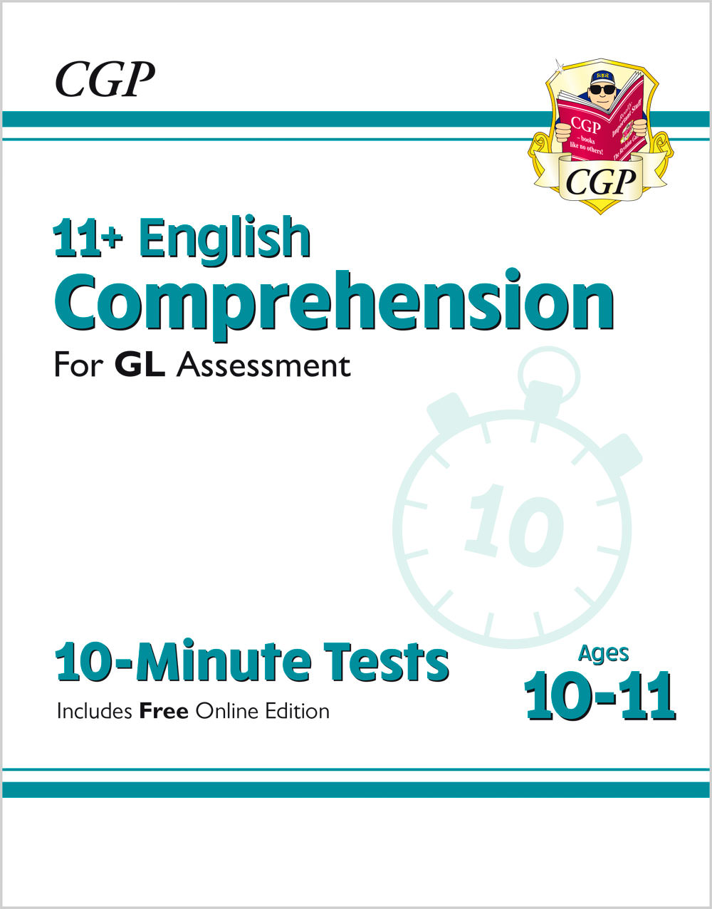 E6CXPE1 - New 11+ GL 10-Minute Tests: English Comprehension - Ages 10-11 (with Online Edition)