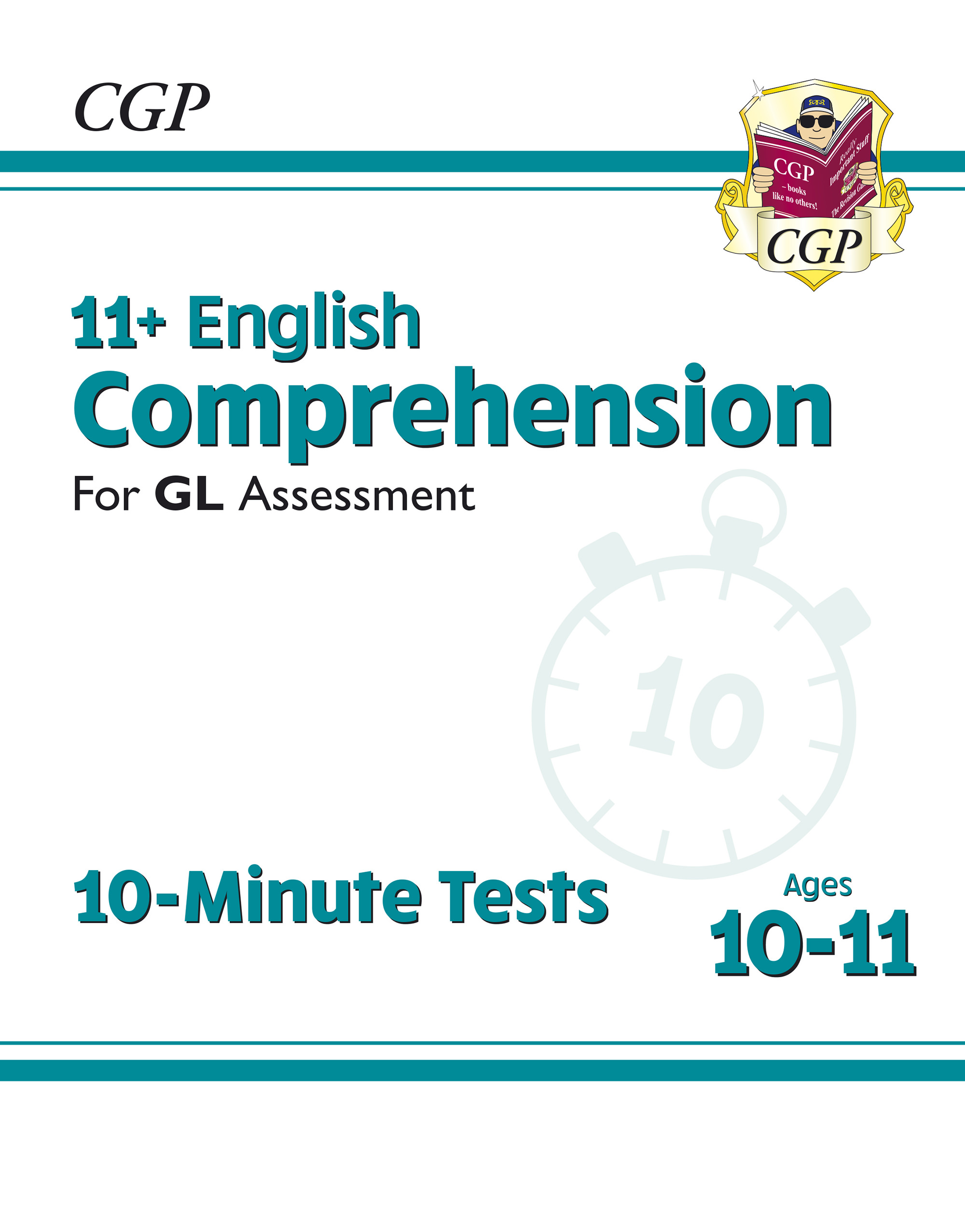 E6CXPE1D - New 11+ GL 10-Minute Tests: English Comprehension - Ages 10-11 Online Edition