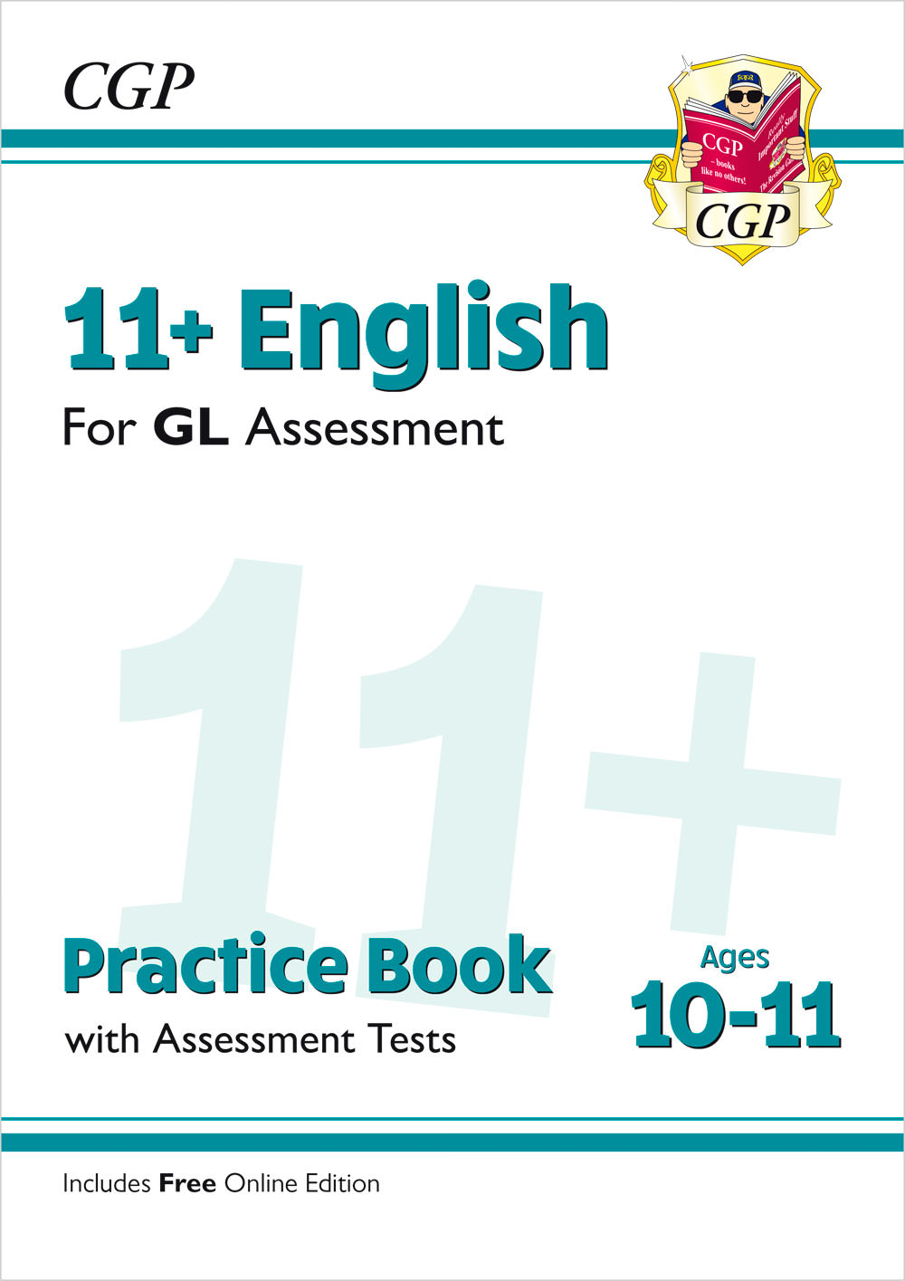 E6QE2 - New 11+ GL English Practice Book & Assessment Tests - Ages 10-11 (with Online Edition)