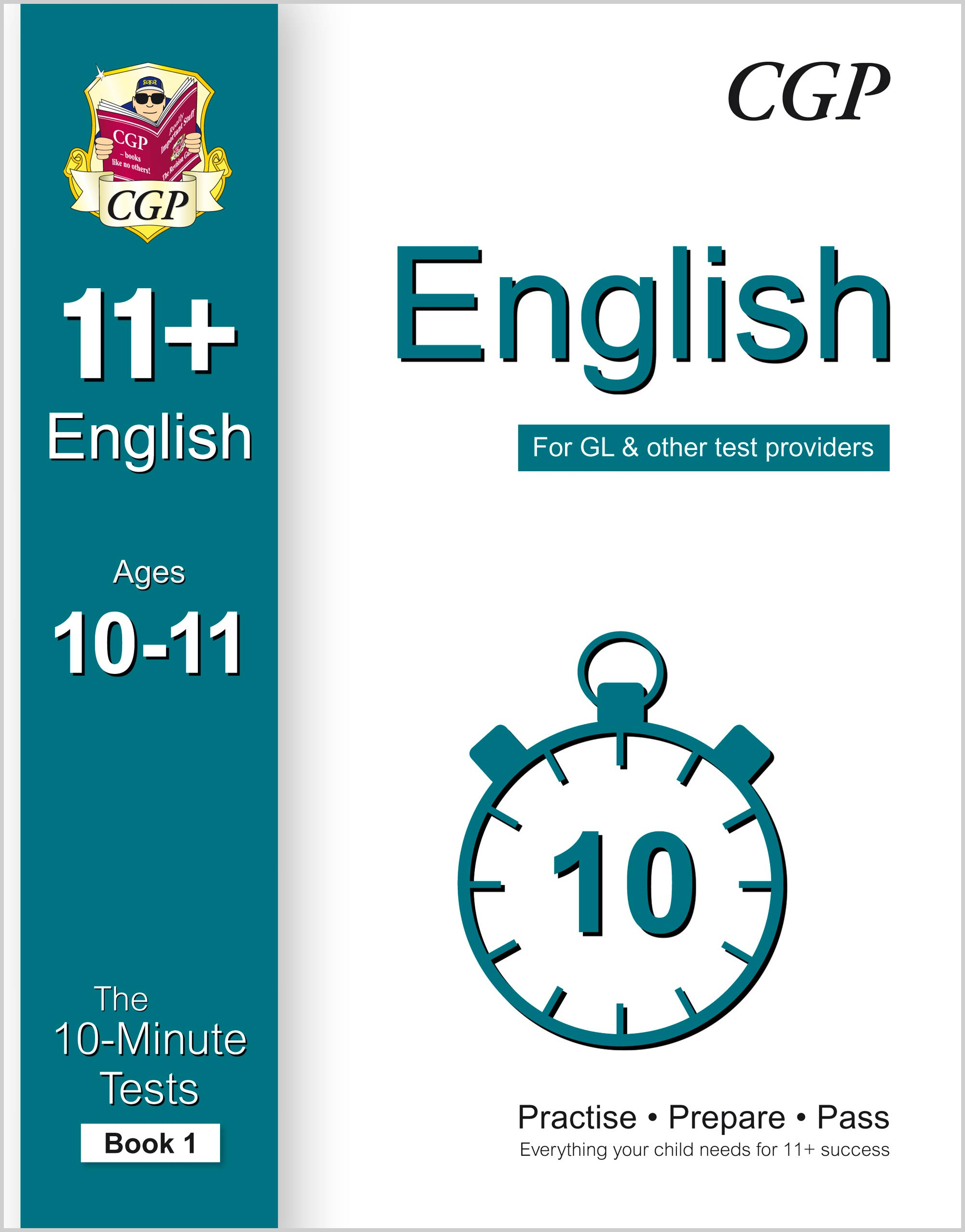 E6XPE1 - 10-Minute Tests for 11+ English Ages 10-11 (Book 1) - for GL & Other Test Providers