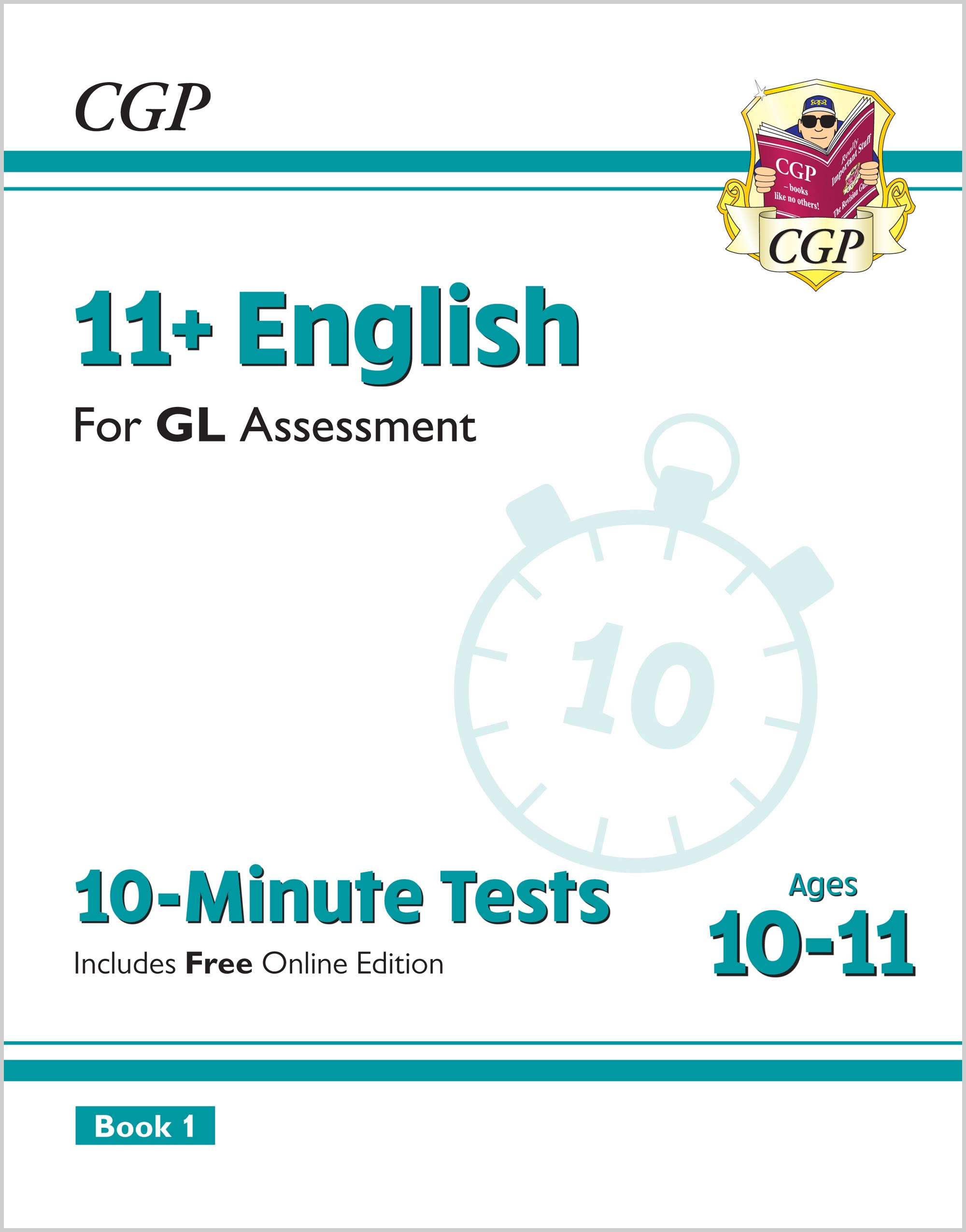 E6XPE2 - New 11+ GL 10-Minute Tests: English - Ages 10-11 Book 1 (with Online Edition)