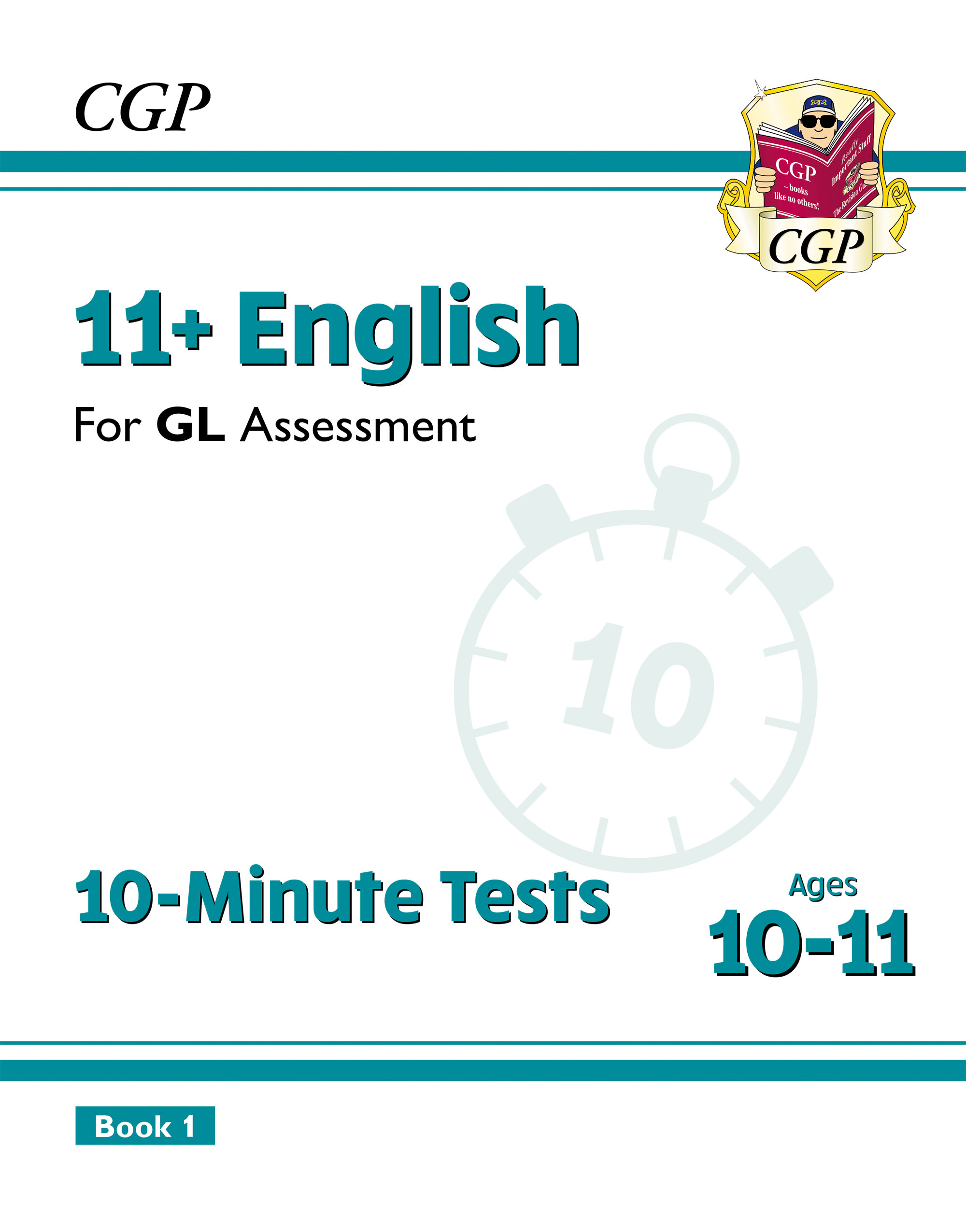 E6XPE2DK - New 11+ GL 10-Minute Tests: English - Ages 10-11 Book 1 (with Online Edition)