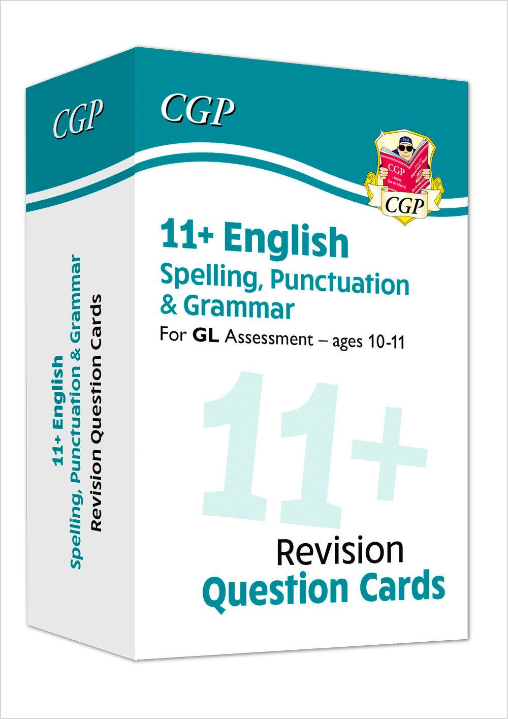 EGFE1 - New 11+ GL Revision Question Cards: English Spelling, Punctuation & Grammar - Ages 10-11
