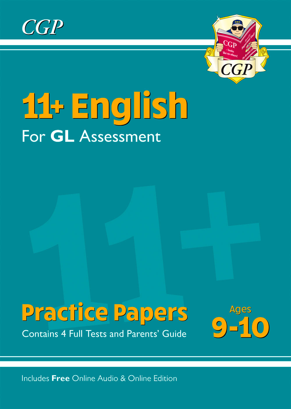 EH5PE1 - New 11+ GL English Practice Papers - Ages 9-10 (with Parents' Guide & Online Edition)