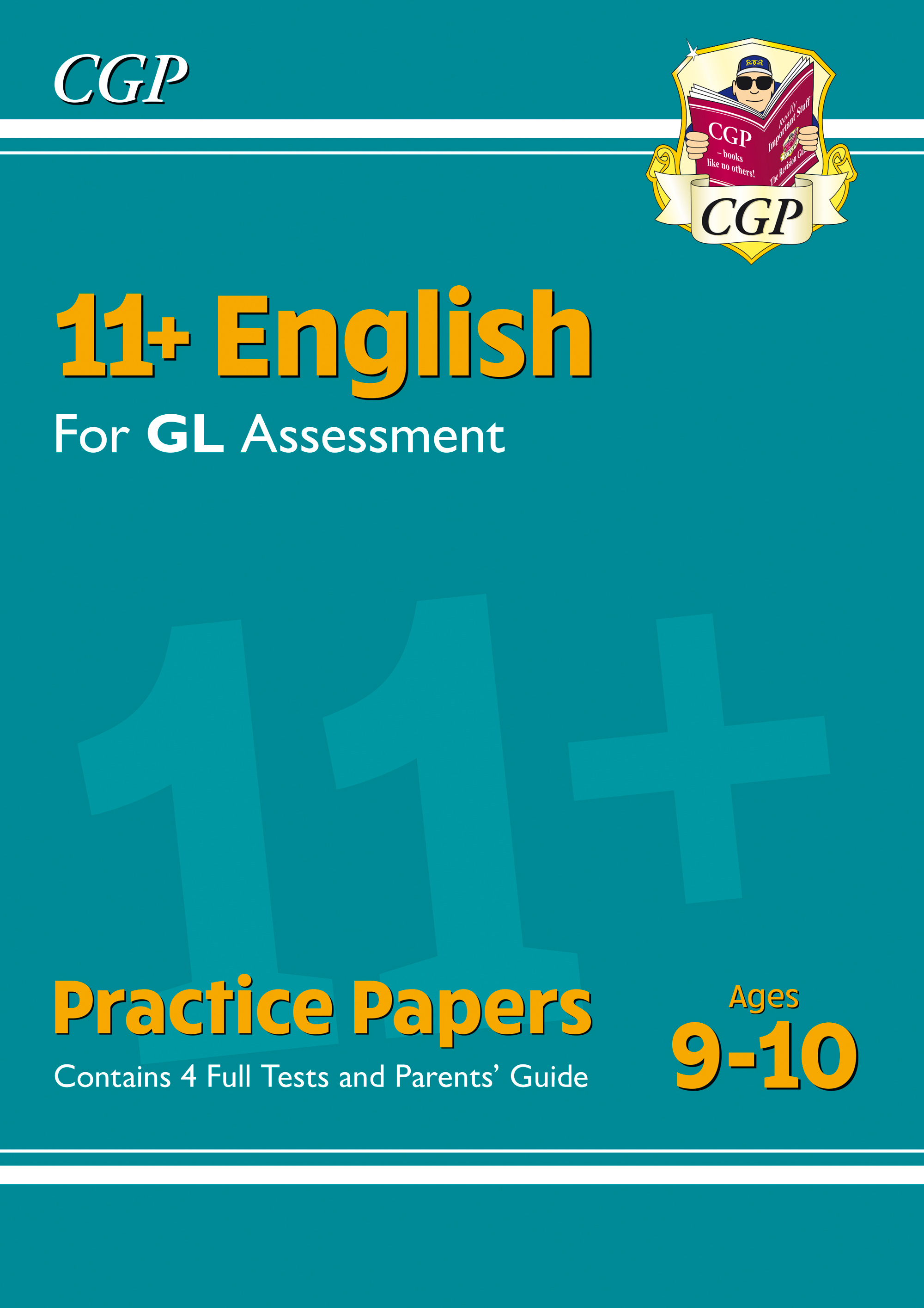 EH5PE1DK - New 11+ GL English Practice Papers - Ages 9-10 (with Parents' Guide)