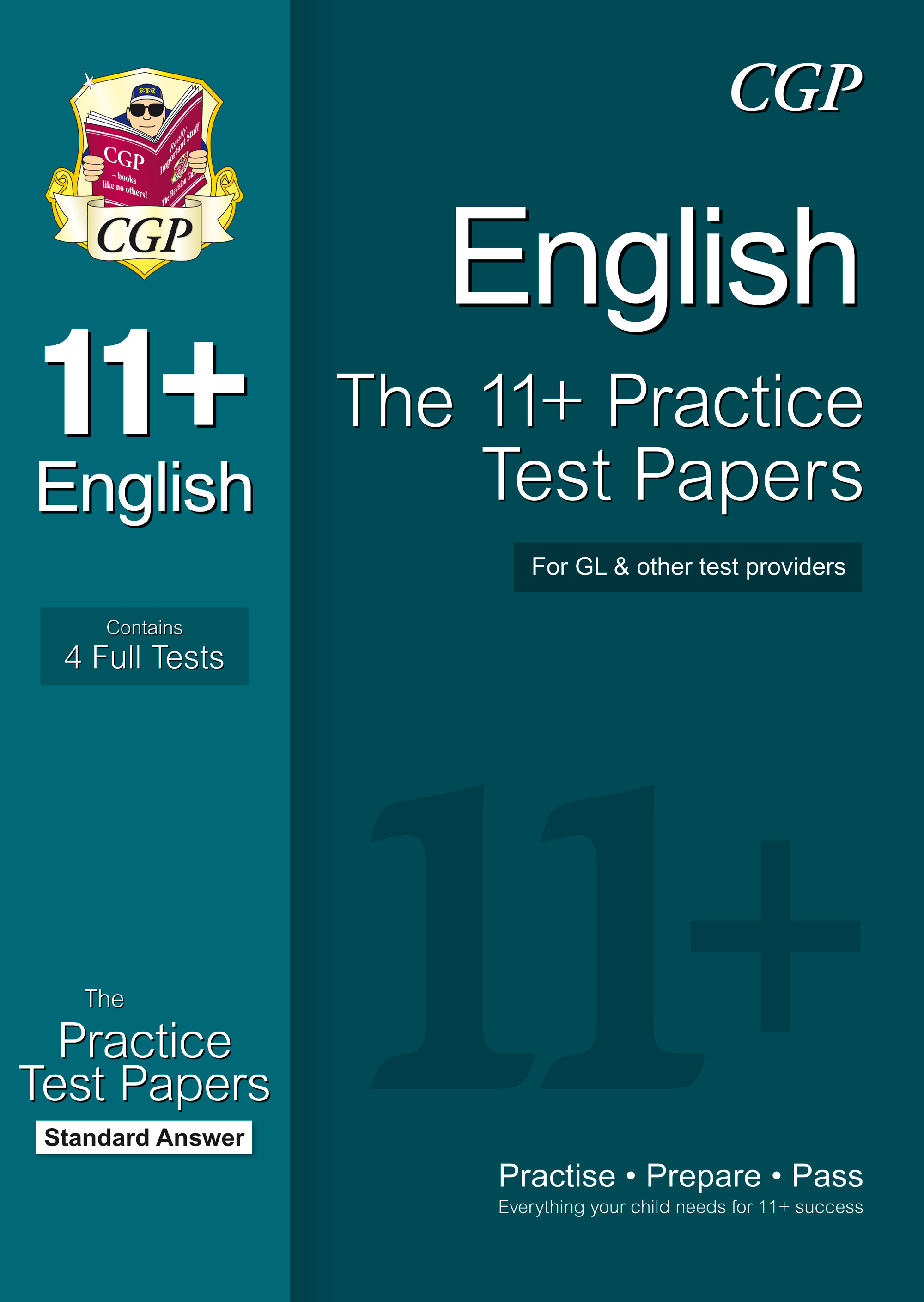 EHPE1 - 11+ English Practice Papers: Standard Answers (for GL & Other Test Providers)