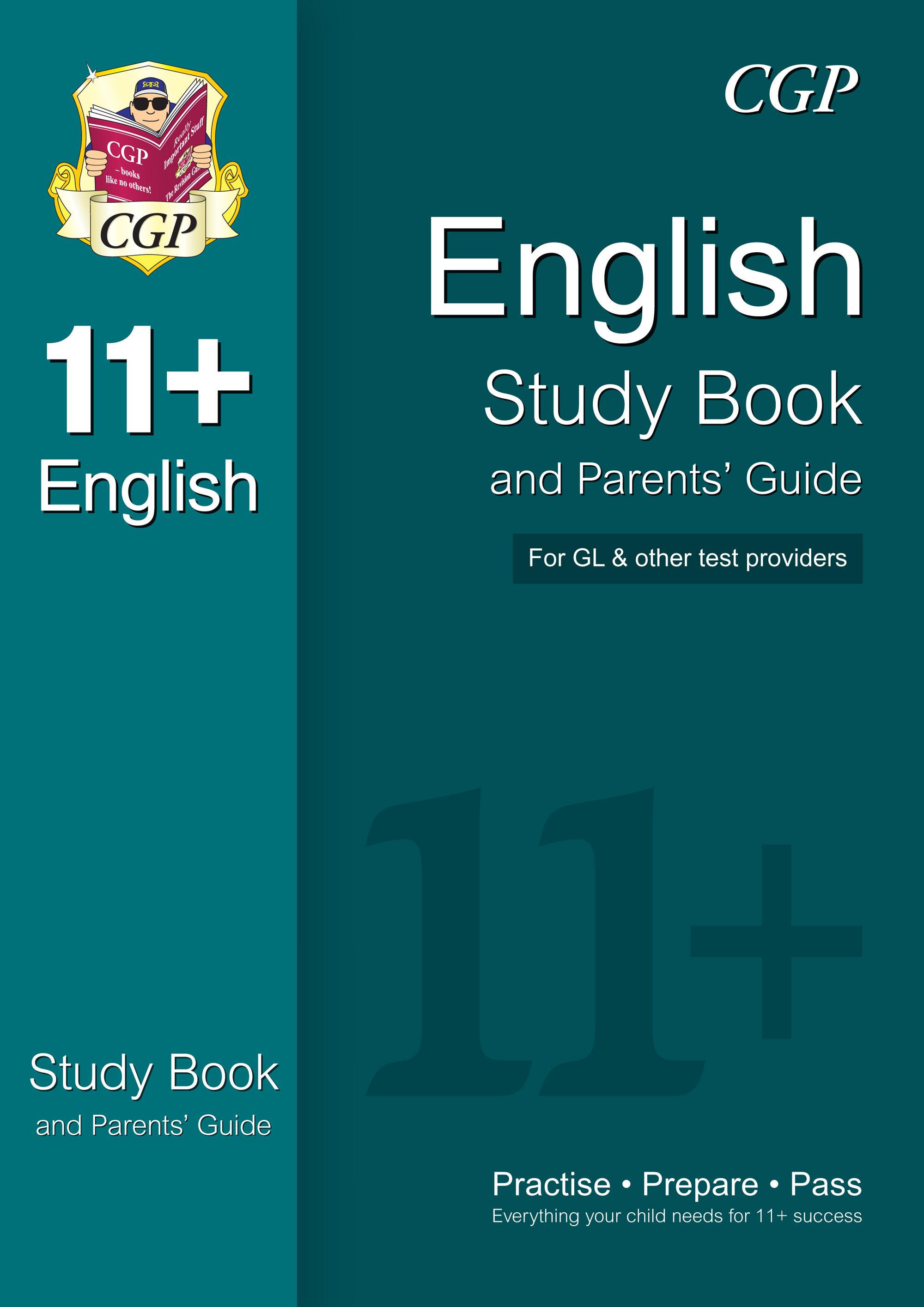 EHRE1 - 11+ English Study Book and Parents' Guide (for GL & Other Test Providers)