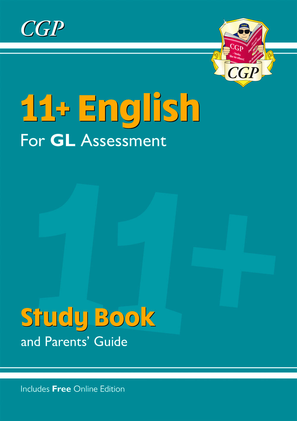 EHRE2 - 11+ GL English Study Book (with Parents' Guide & Online Edition)