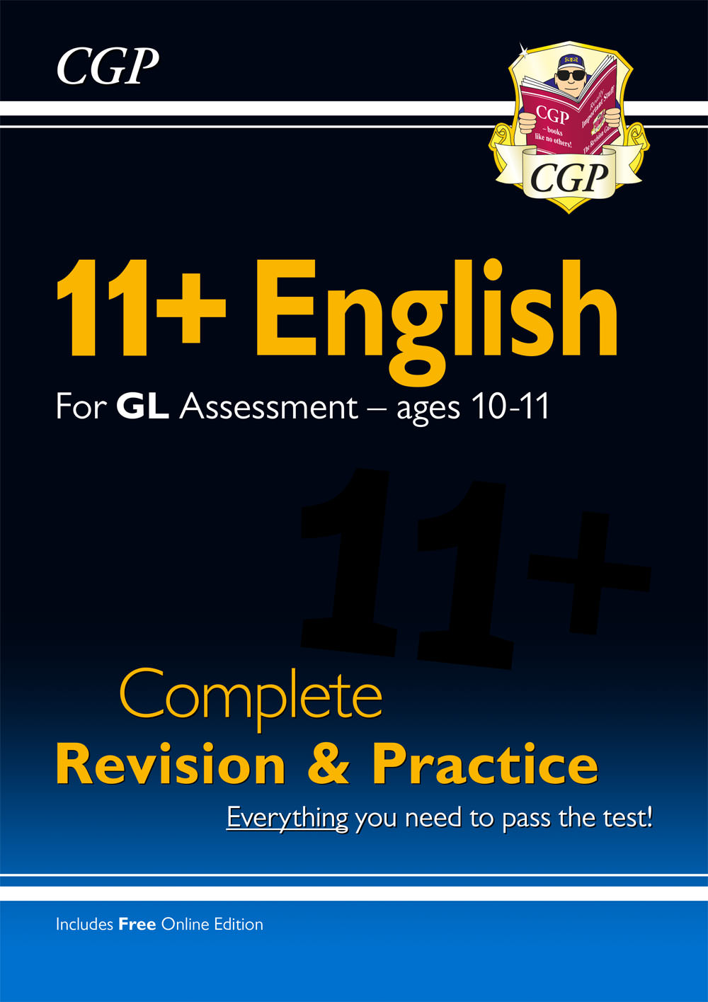 EHSE1 - New 11+ GL English Complete Revision and Practice - Ages 10-11 (with Online Edition)