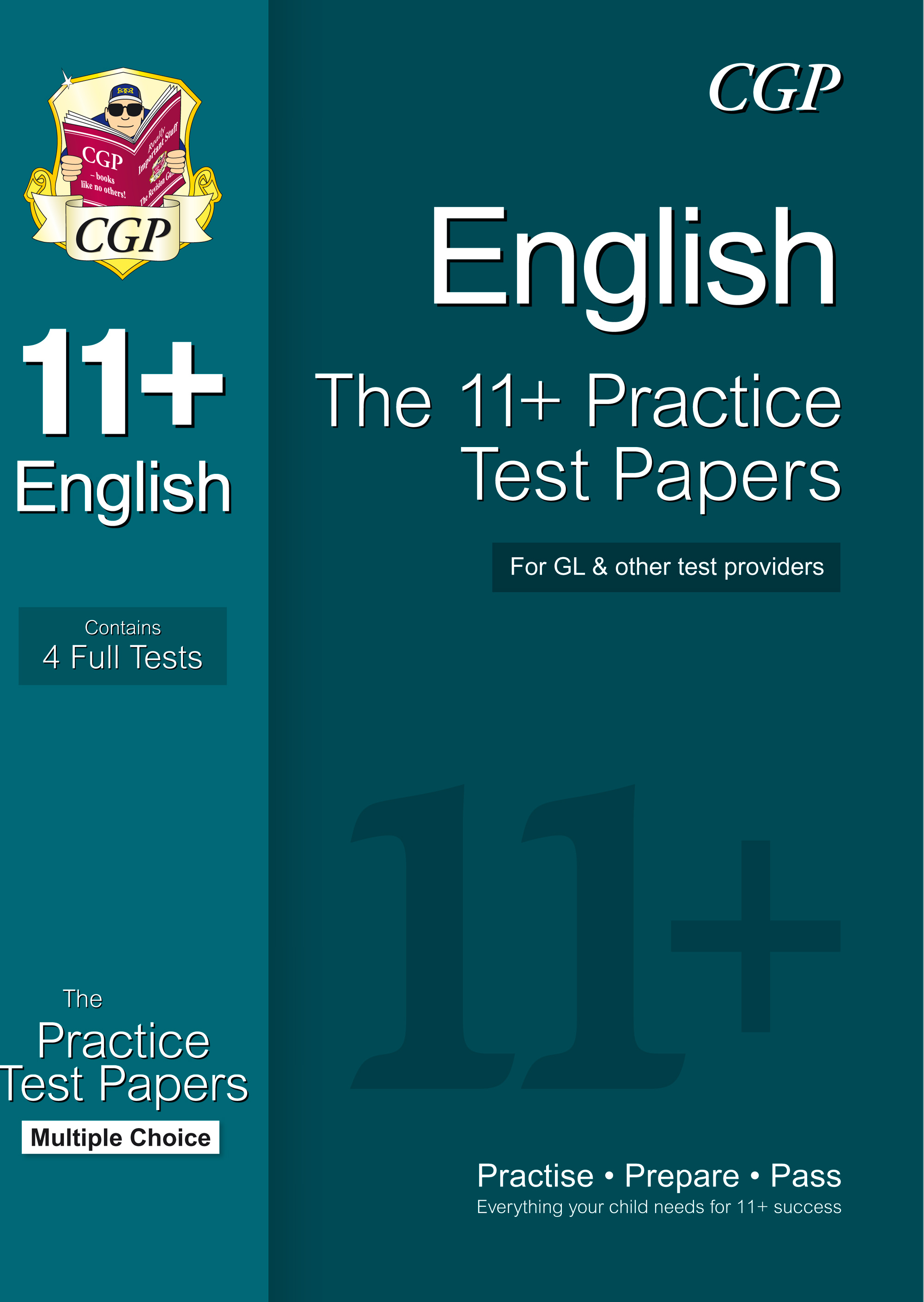 EHTE1 - 11+ English Practice Papers: Multiple Choice (for GL & Other Test Providers)