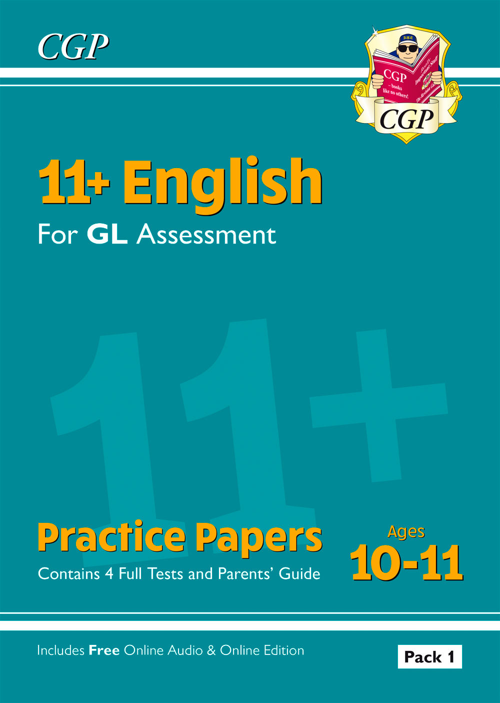 EHTE2 - 11+ GL English Practice Papers - Ages 10-11 (with Parents' Guide & Online Edition)