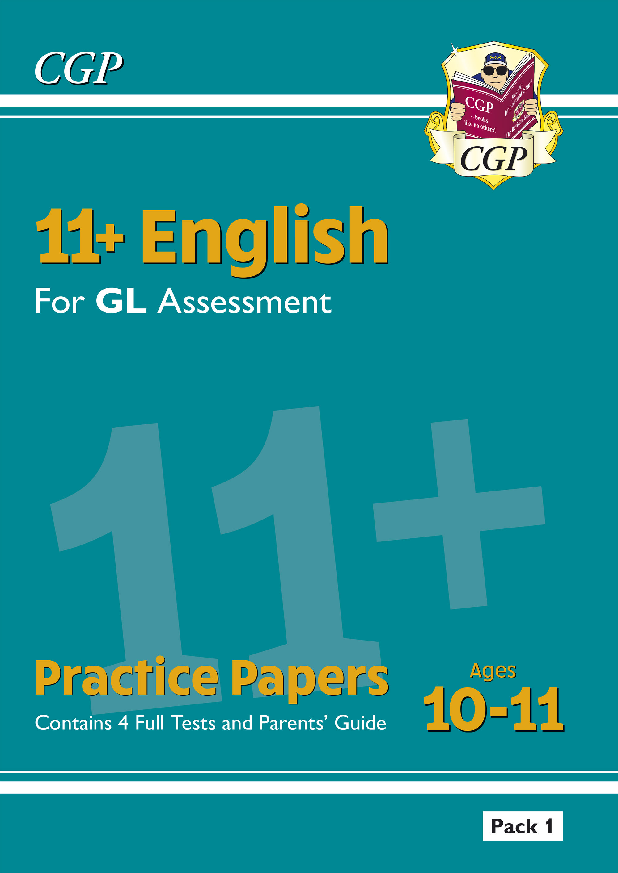 EHTE2DK - New 11+ GL English Practice Papers - Ages 10-11 (with Parents' Guide)