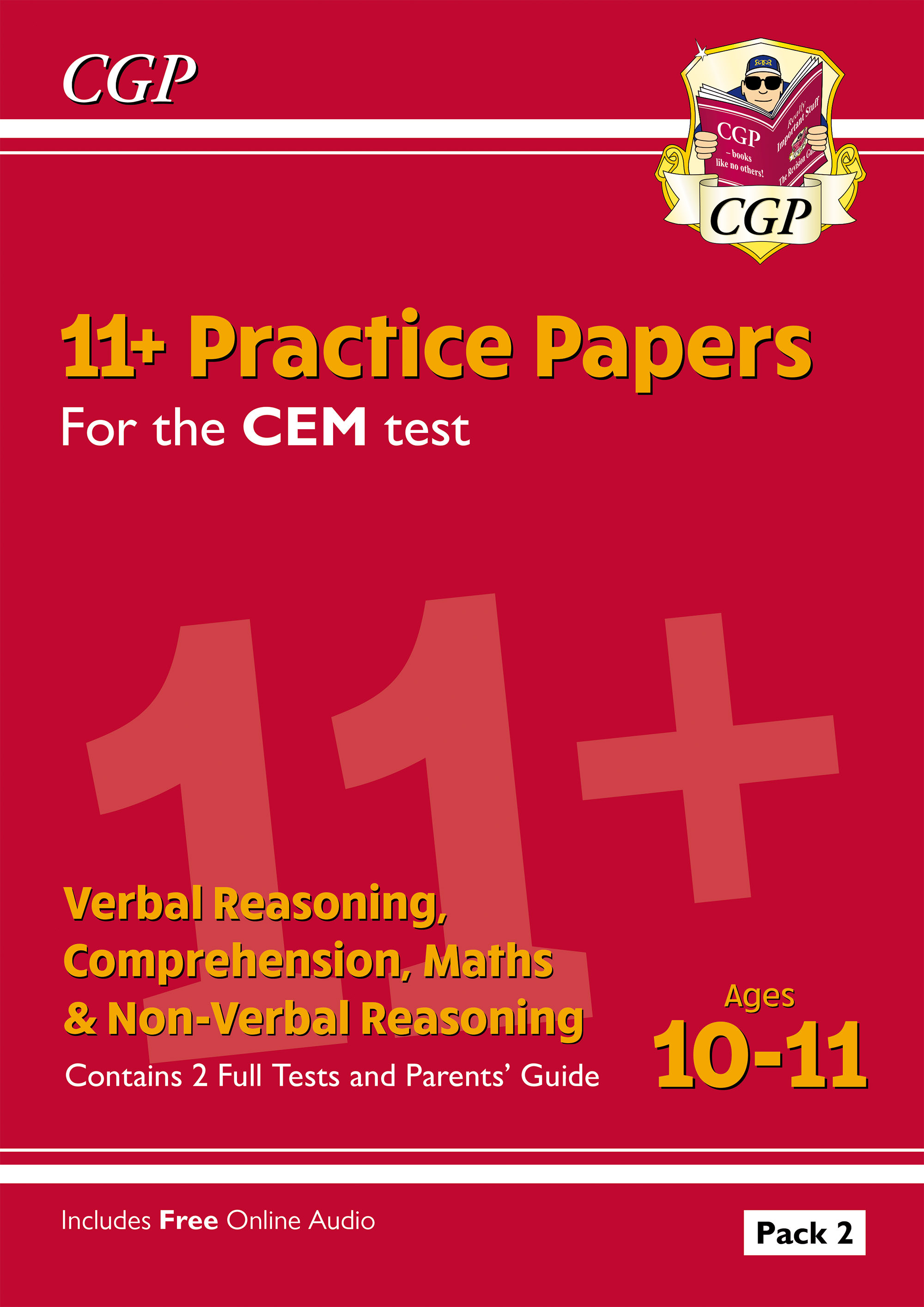 ELP2DE2DK - New 11+ CEM Practice Papers: Ages 10-11 - Pack 2 (with Parents' Guide)