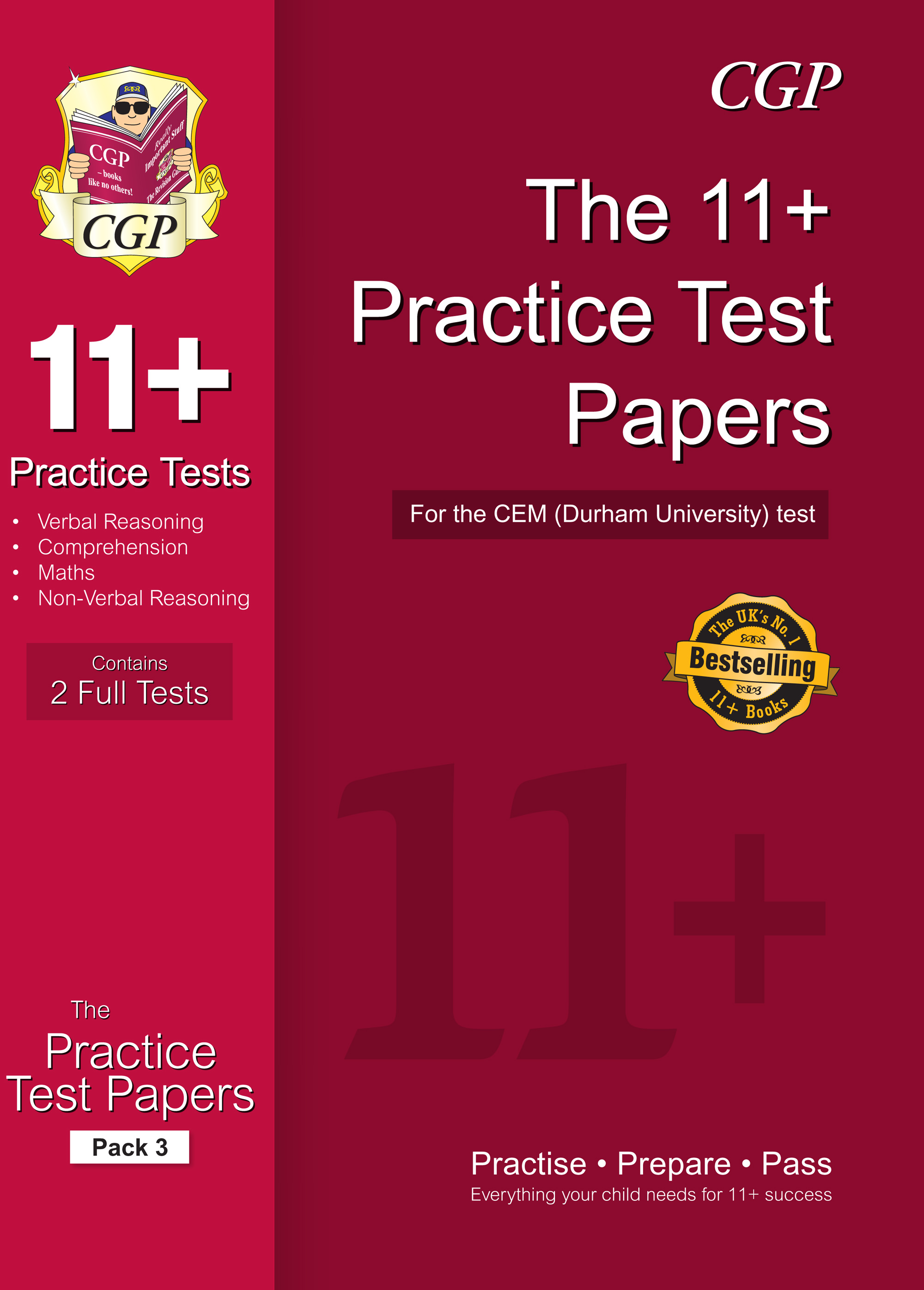 ELP3DE1 - 11+ Practice Papers for the CEM Test - Pack 3