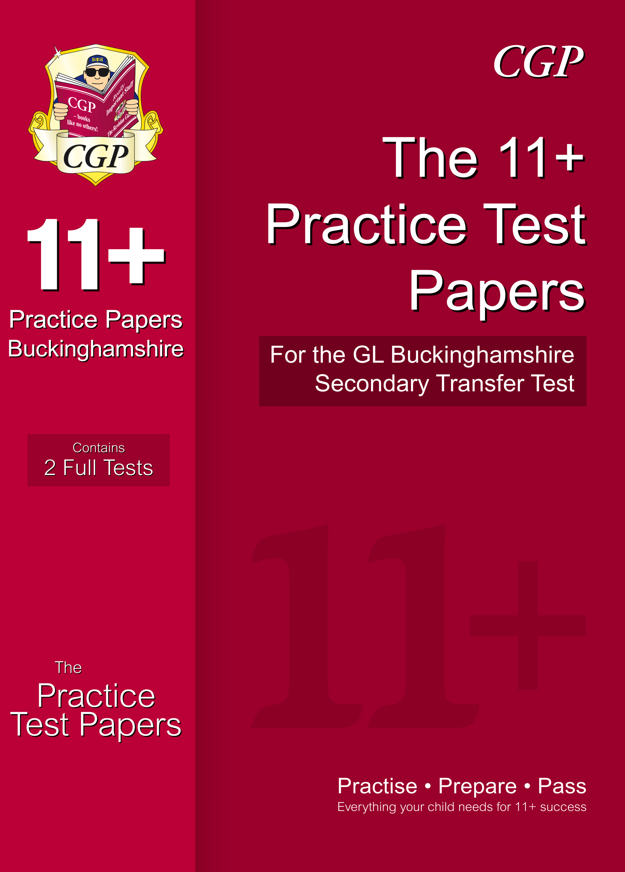ELPCE1 - Buckinghamshire 11+ GL Practice Papers for the Secondary Transfer Test - New for 2018