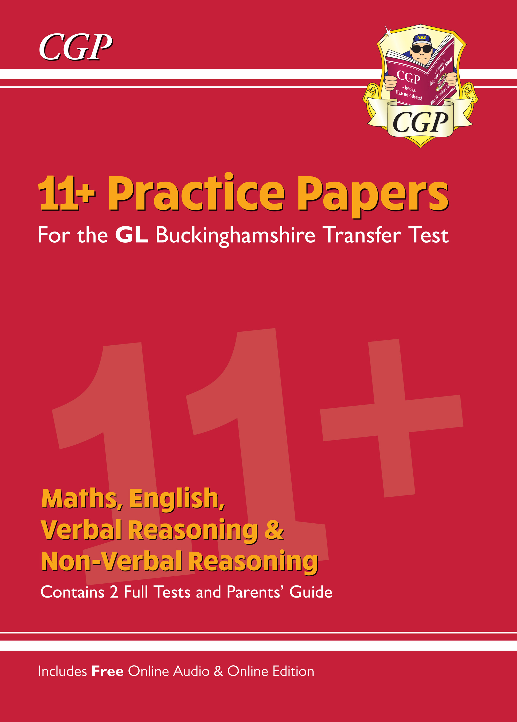 ELPCE2 - New Buckinghamshire 11+ GL Practice Papers: Secondary Transfer Test (inc Parents' Guide & O