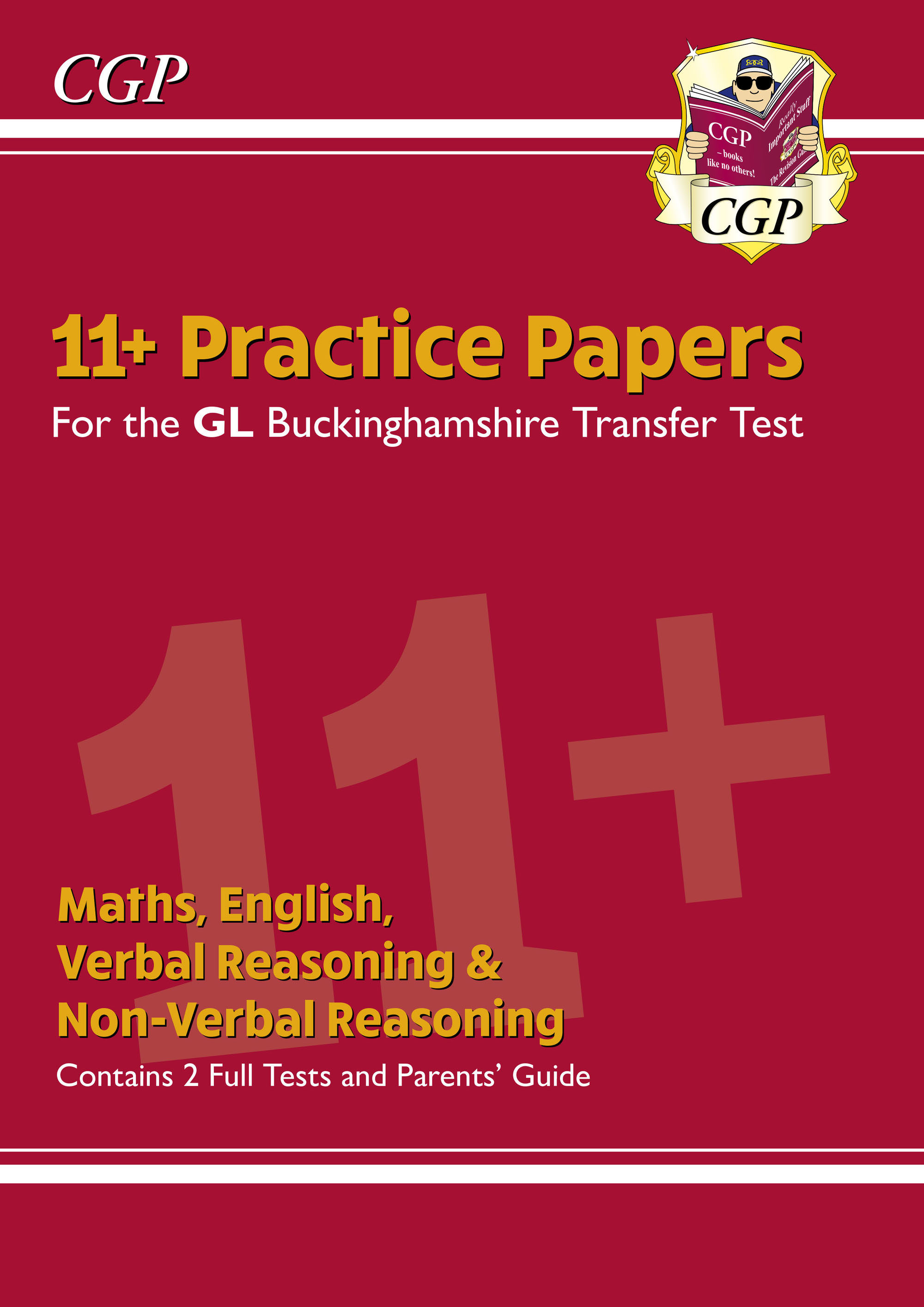 ELPCE2DK - New Buckinghamshire 11+ GL Practice Papers: Secondary Transfer Test (inc Parents' Guide)