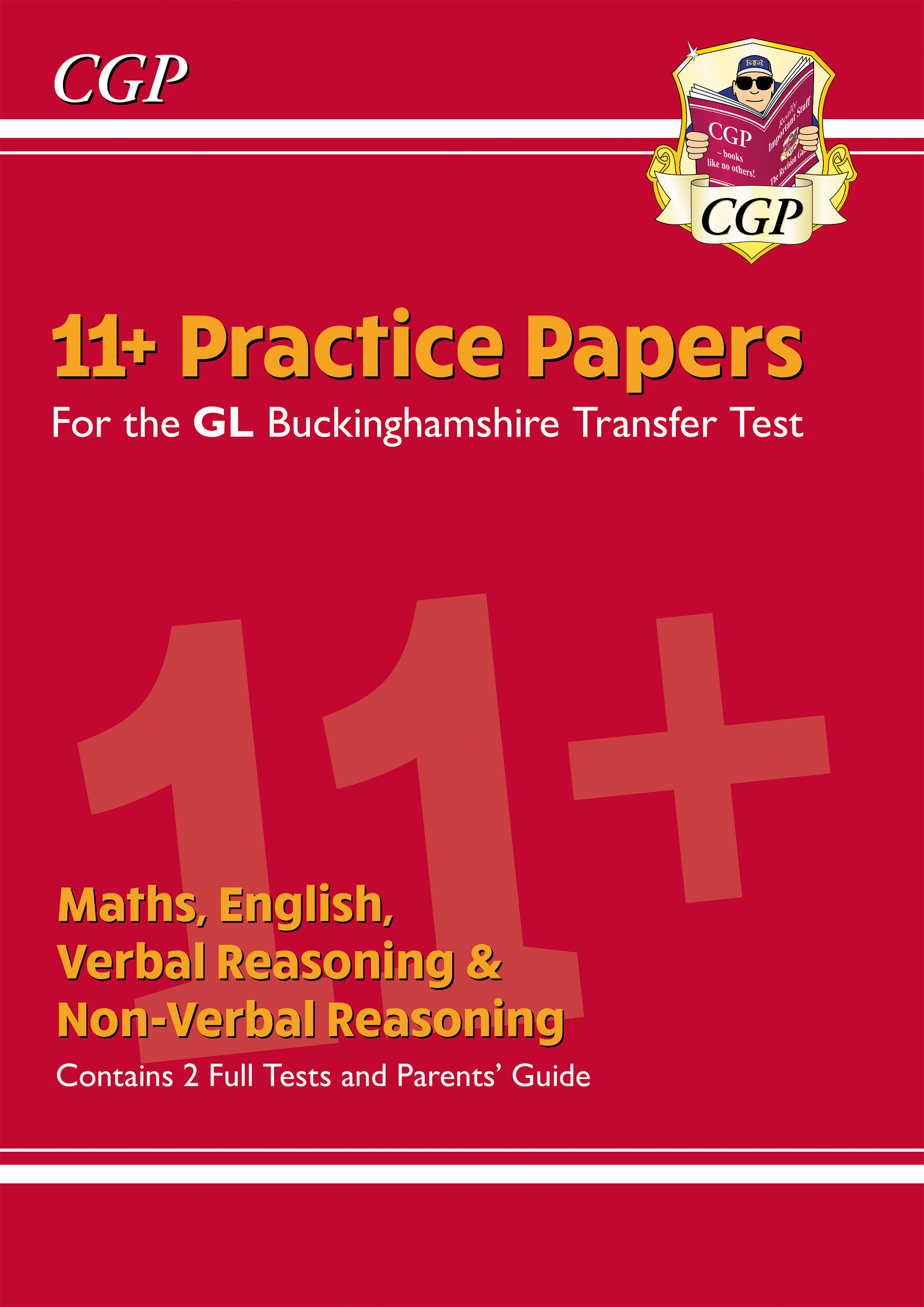 ELPCE3DK - New Buckinghamshire 11+ GL Practice Papers: Secondary Transfer Test (inc Parents' Guide)