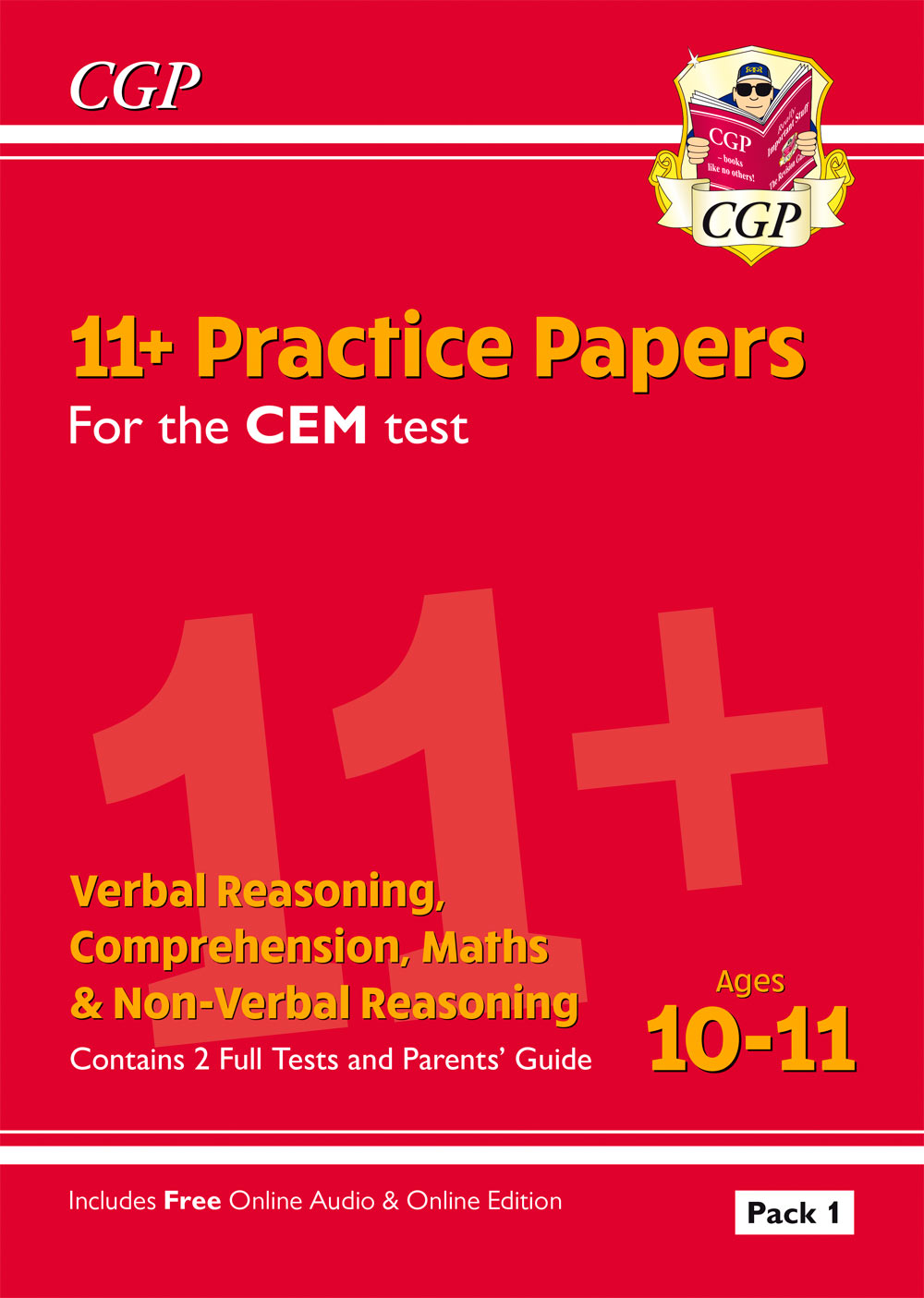 ELPDE2 - 11+ CEM Practice Papers: Ages 10-11 - Pack 1 (with Parents' Guide & Online Edition)