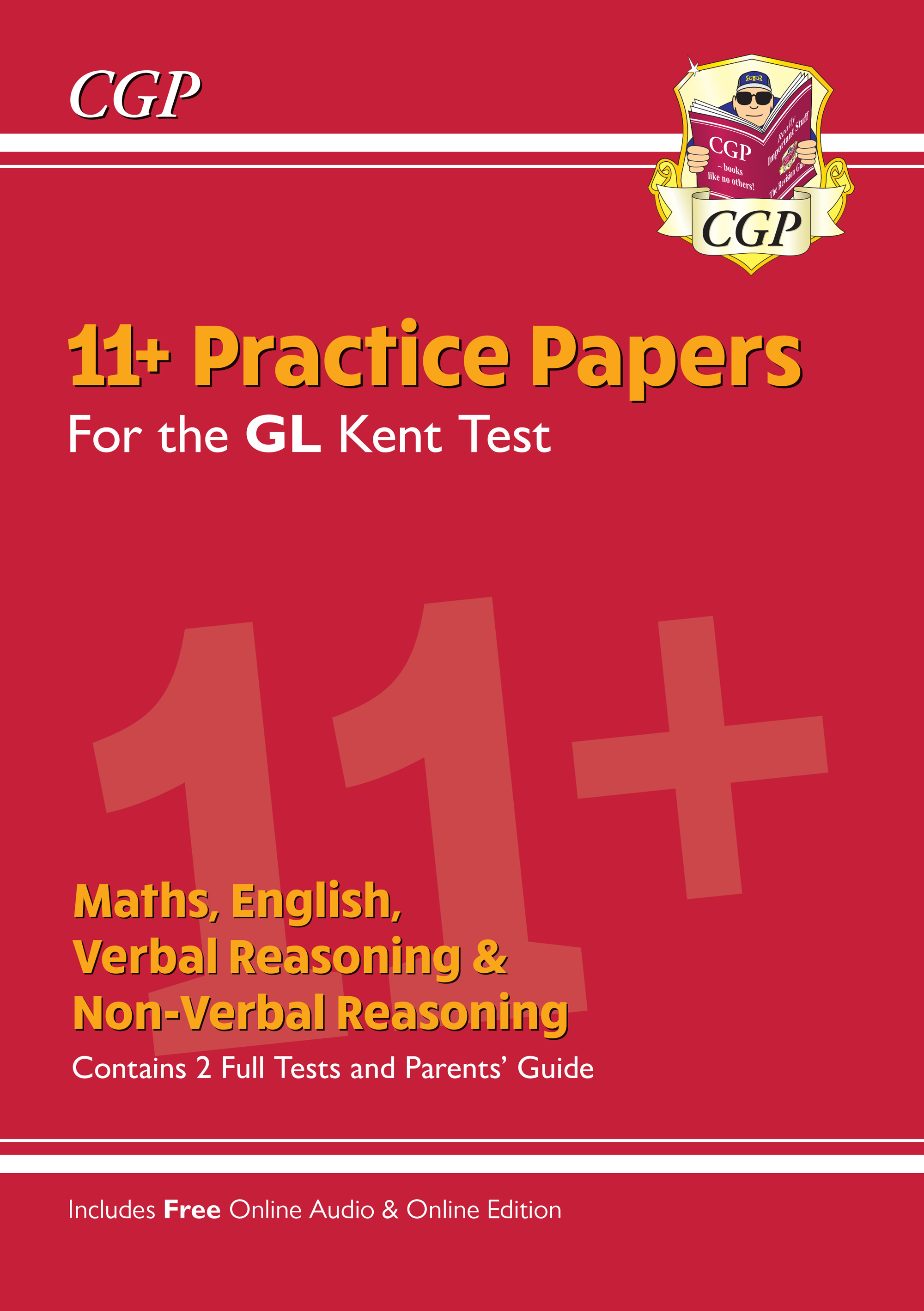 ELPKE3 - New Kent Test 11+ GL Practice Papers (with Parents' Guide & Online Edition)