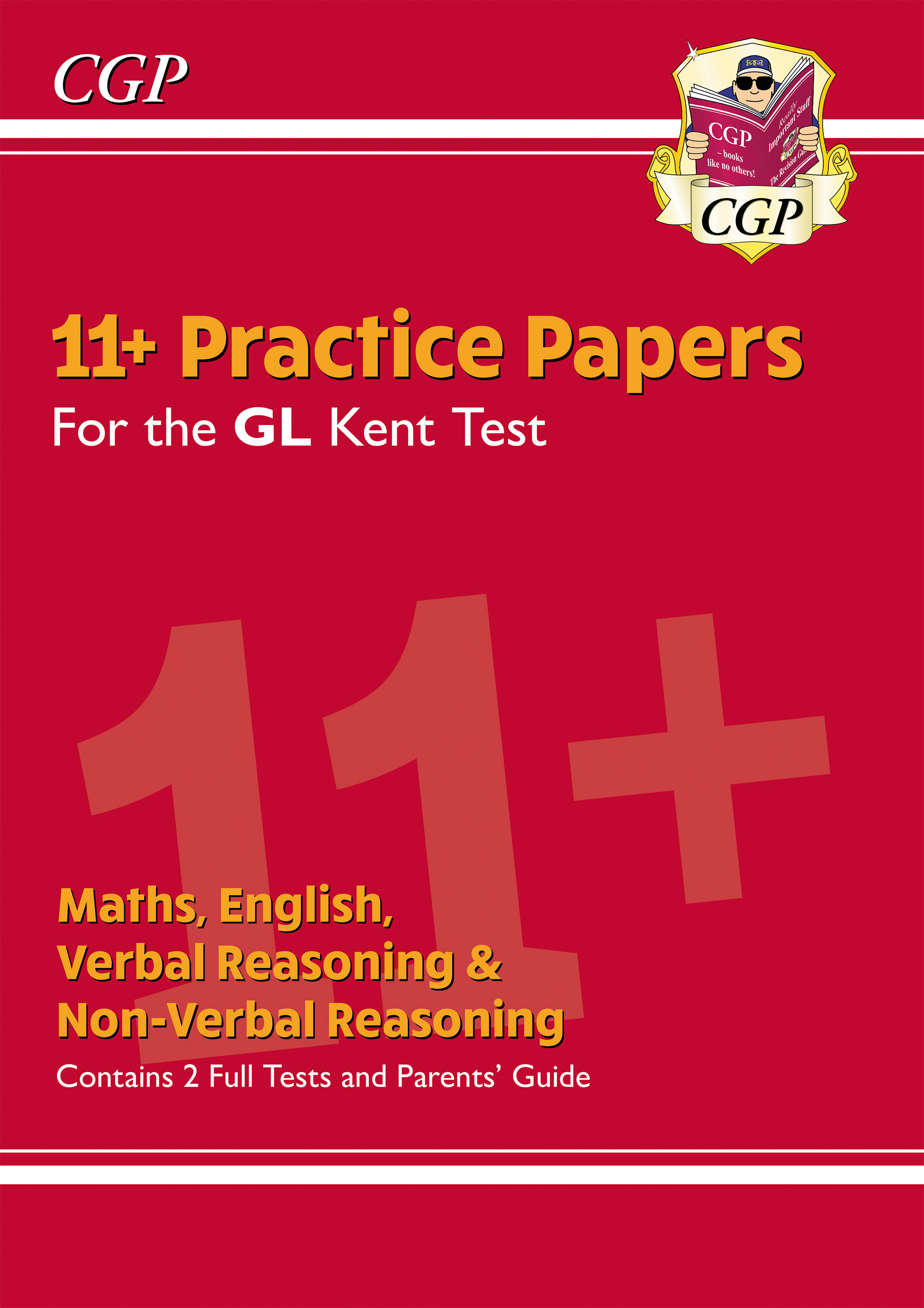 ELPKE3DK - New Kent Test 11+ GL Practice Papers (with Parents' Guide)