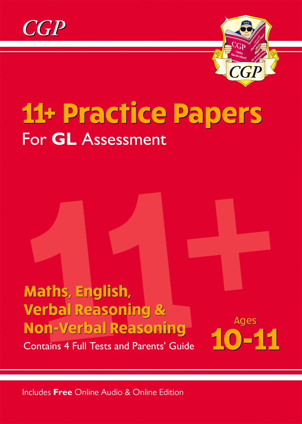ELTE2 - 11+ GL Practice Papers Mixed Pack - Ages 10-11 (with Parents' Guide & Online Edition)