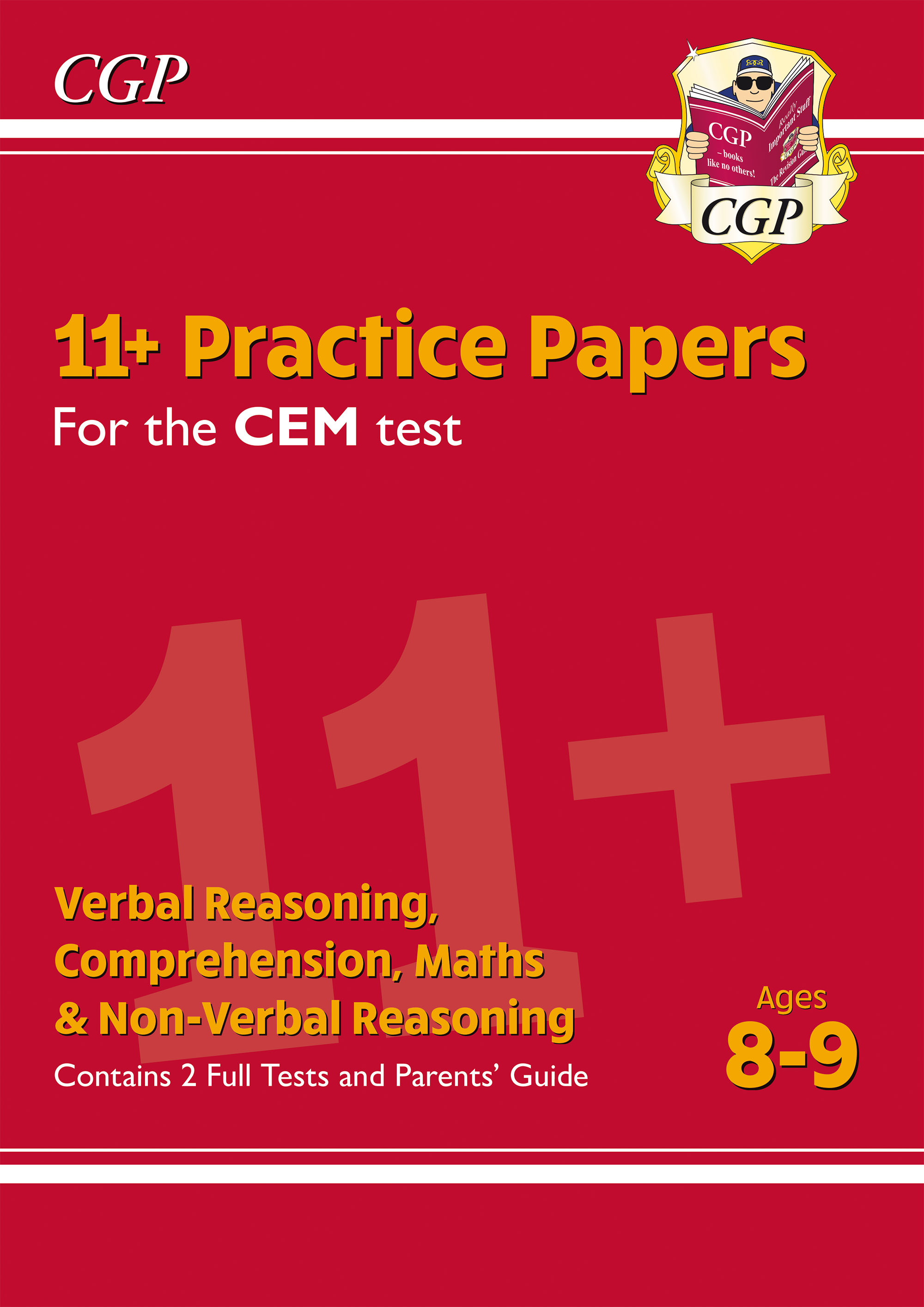 ELY4PDE1DK - New 11+ CEM Practice Papers - Ages 8-9 (with Parents' Guide)