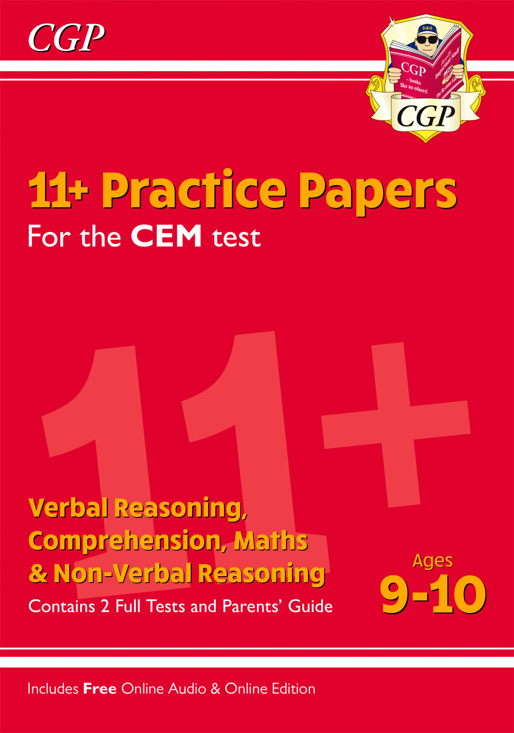 ELY5PDE1 - 11+ CEM Practice Papers - Ages 9-10 (with Parents' Guide & Online Edition)