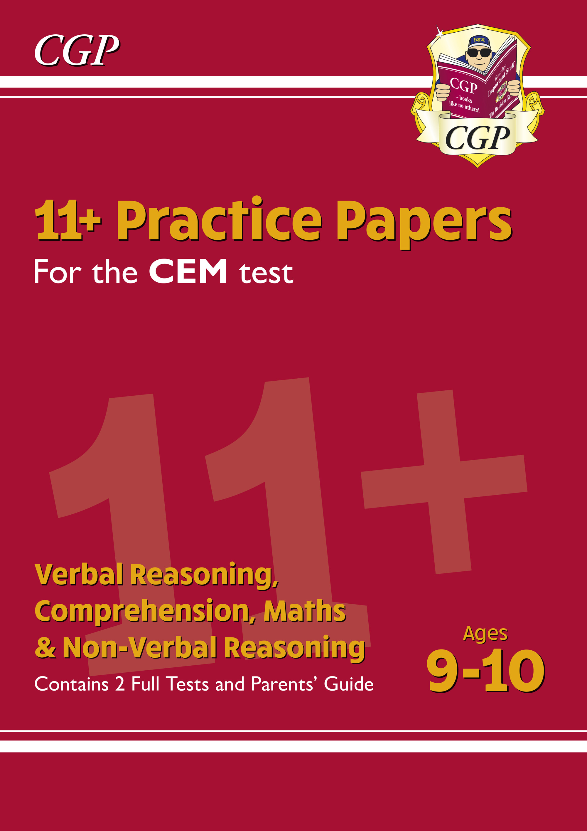 ELY5PDE1DK - New 11+ CEM Practice Papers - Ages 9-10 (with Parents' Guide)