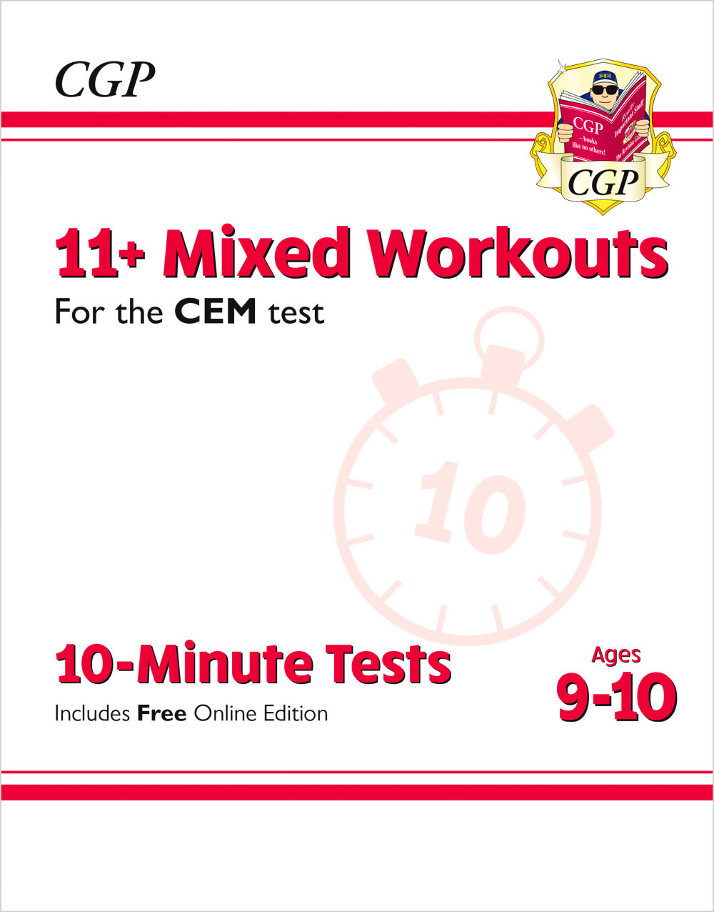 L5XWDE2 - 11+ CEM 10-Minute Tests: Mixed Workouts - Ages 9-10 (with Online Edition)