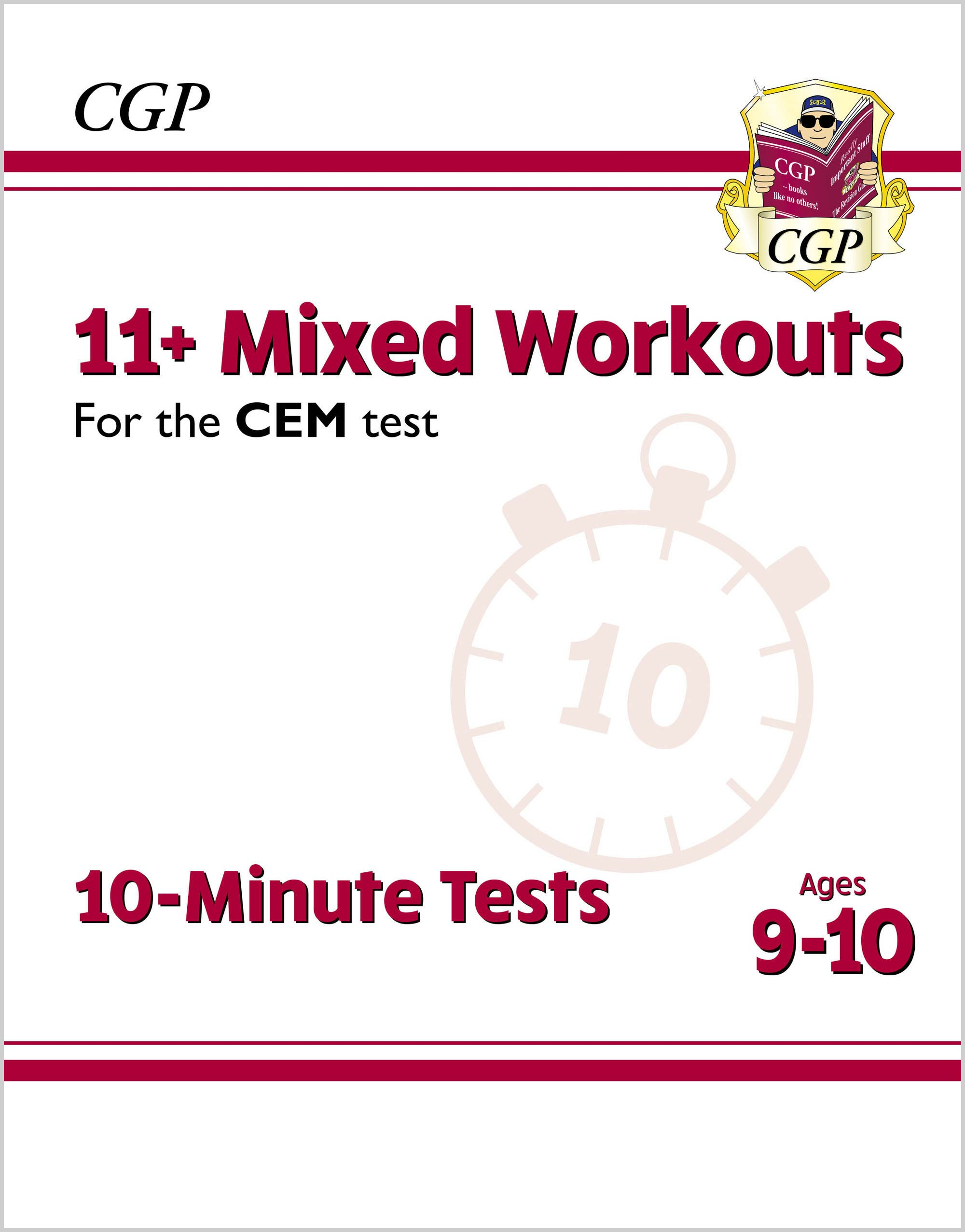 L5XWDE2DK - New 11+ CEM 10-Minute Tests: Mixed Workouts - Ages 9-10
