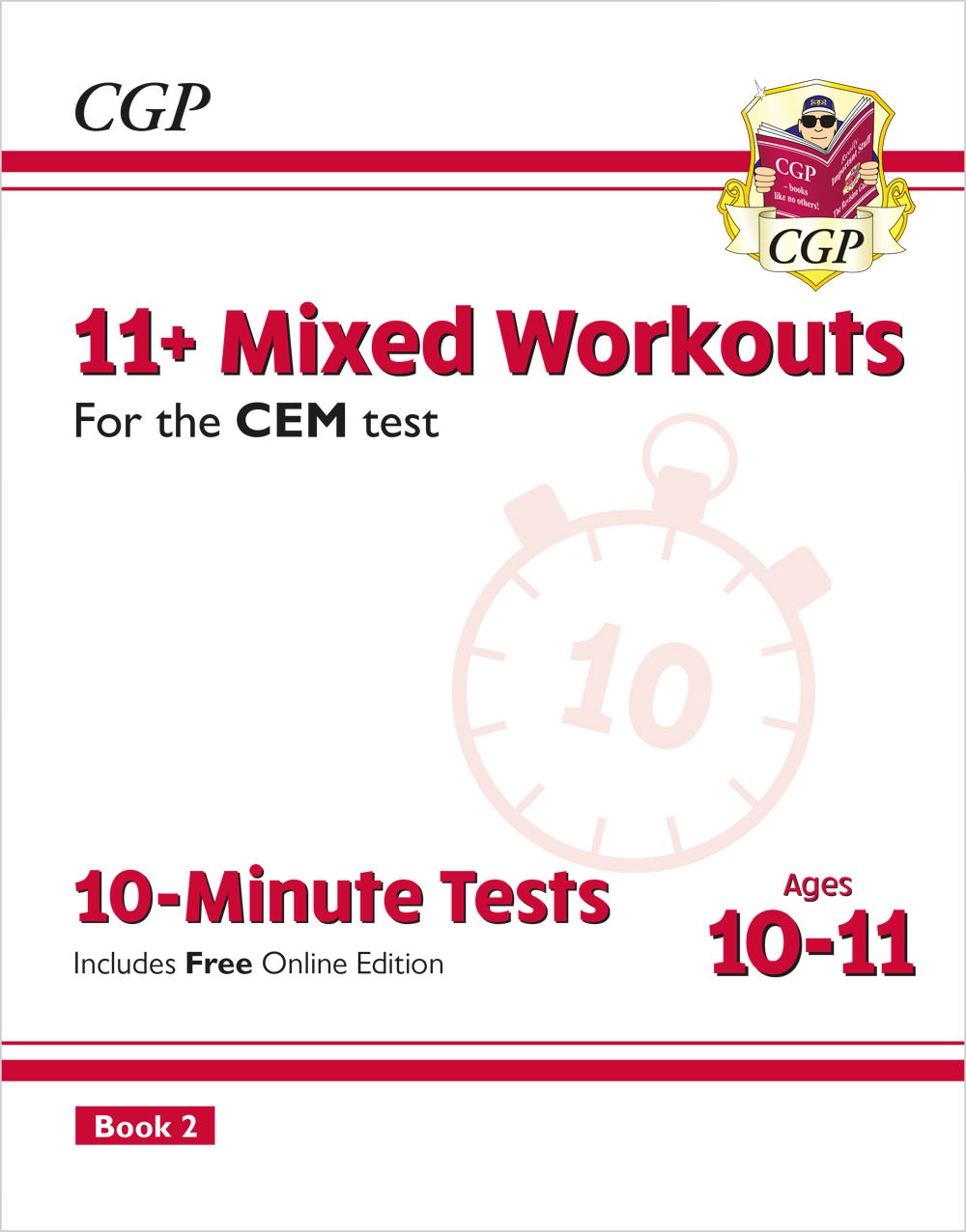 L6XW2DE2 - 11+ CEM 10-Minute Tests: Mixed Workouts - Ages 10-11 Book 2 (with Online Edition)