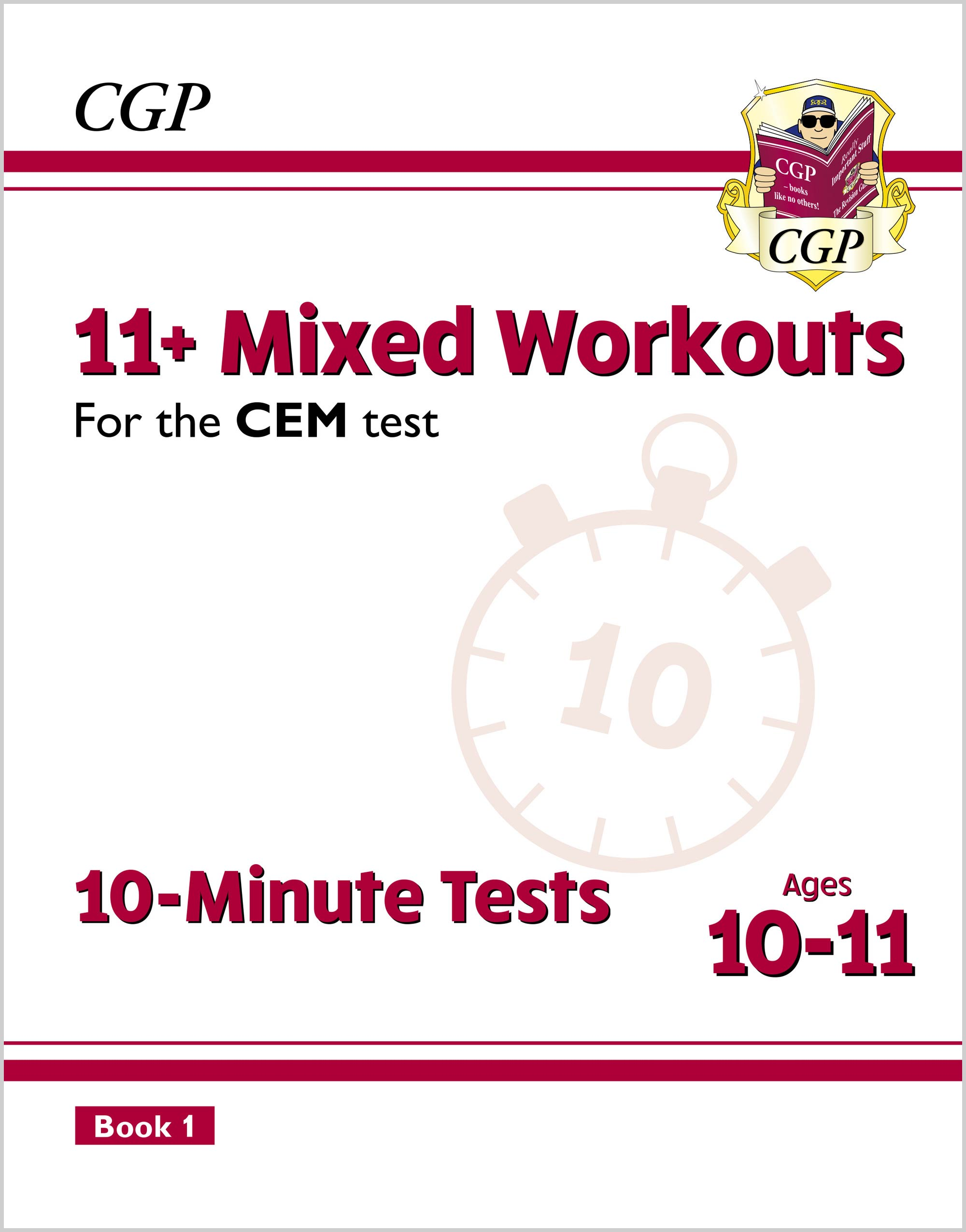 L6XWDE2DK - New 11+ CEM 10-Minute Tests: Mixed Workouts - Ages 10-11 Book 1 (with Online Edition)