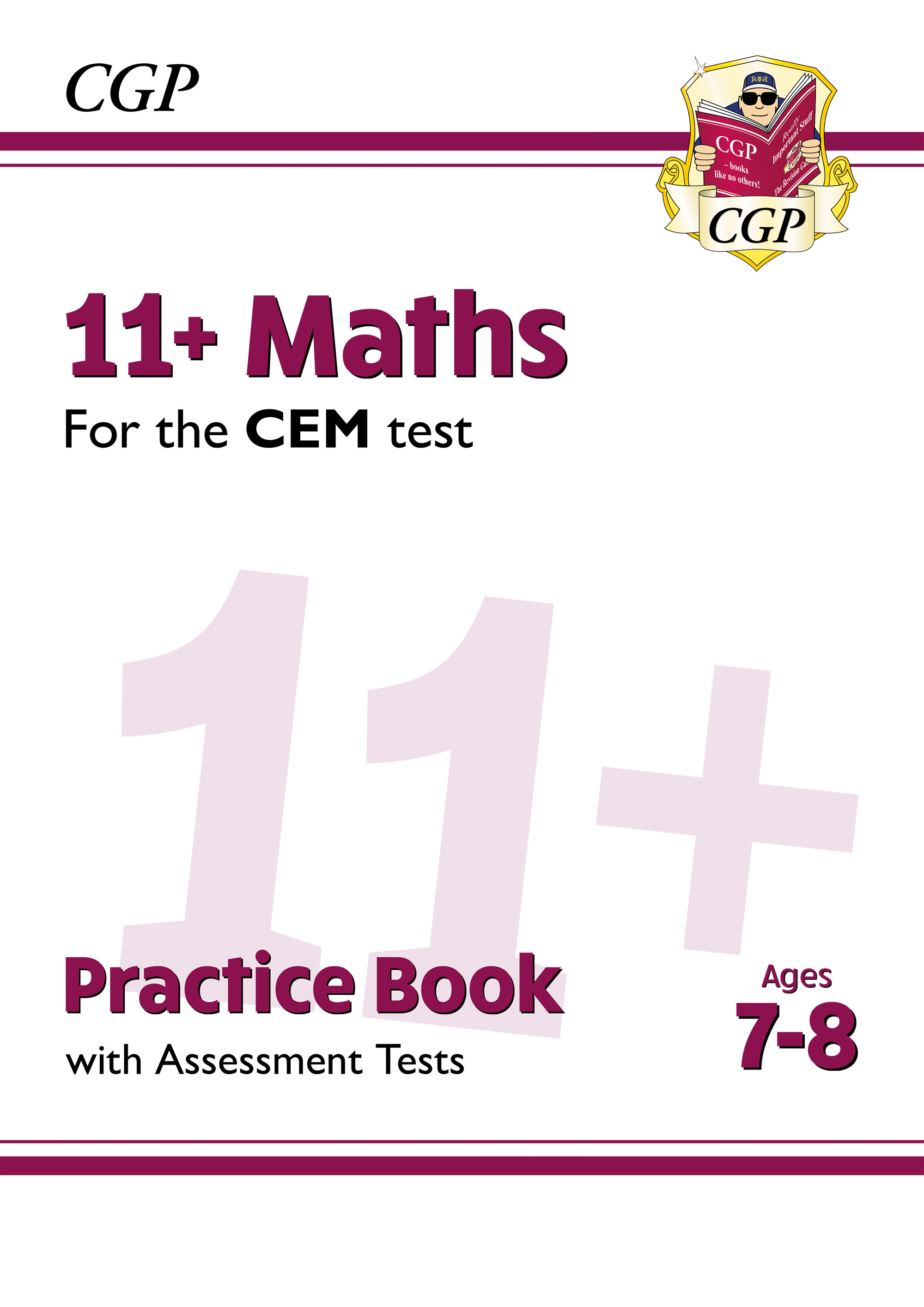 M3QDE2DK - New 11+ CEM Maths Practice Book & Assessment Tests - Ages 7-8