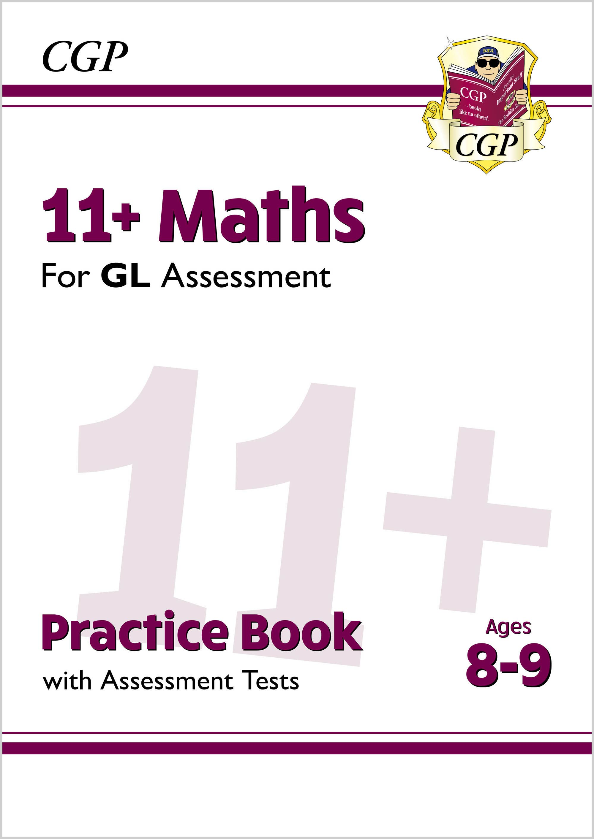 M4QE2DK - New 11+ GL Maths Practice Book & Assessment Tests - Ages 8-9