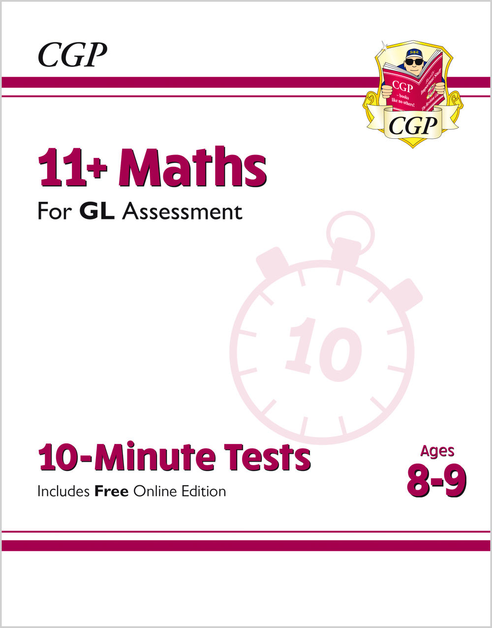 M4XPE1 - New 11+ GL 10-Minute Tests: Maths - Ages 8-9 (with Online Edition)