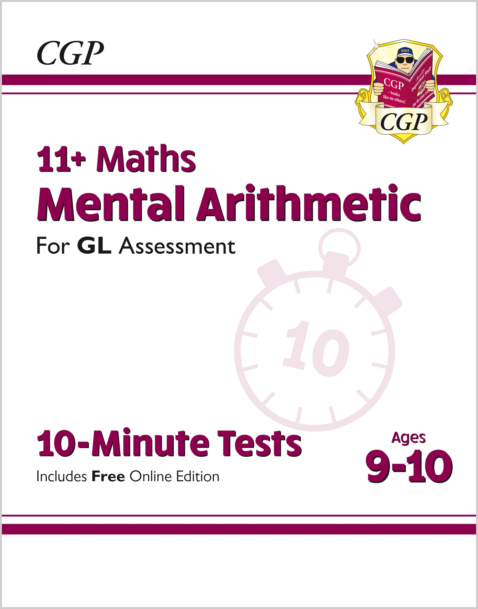M5AXPE1 - New 11+ GL 10-Minute Tests: Maths Mental Arithmetic - Ages 9-10 (with Online Edition)