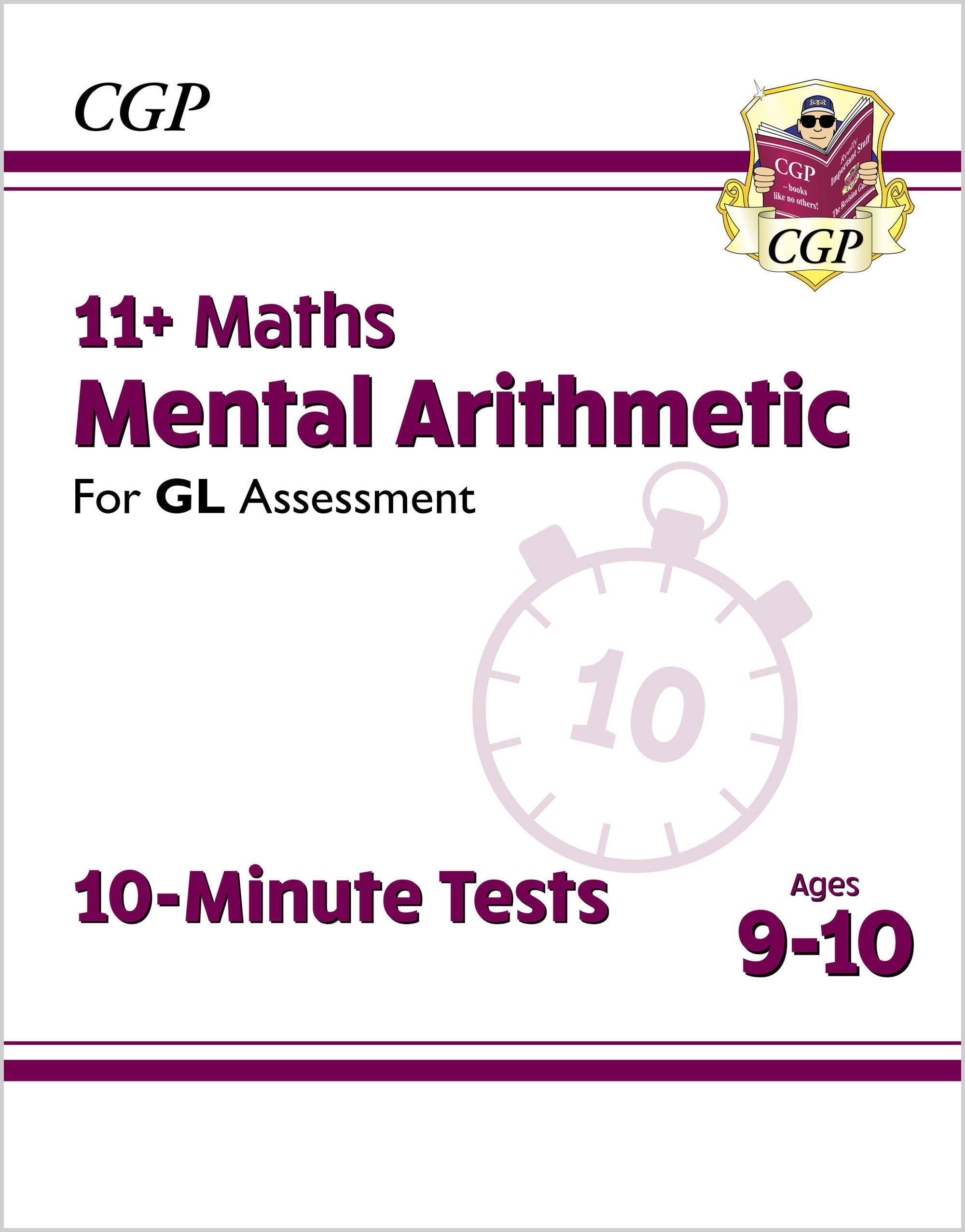 M5AXPE1DK - New 11+ GL 10-Minute Tests: Maths Mental Arithmetic - Ages 9-10