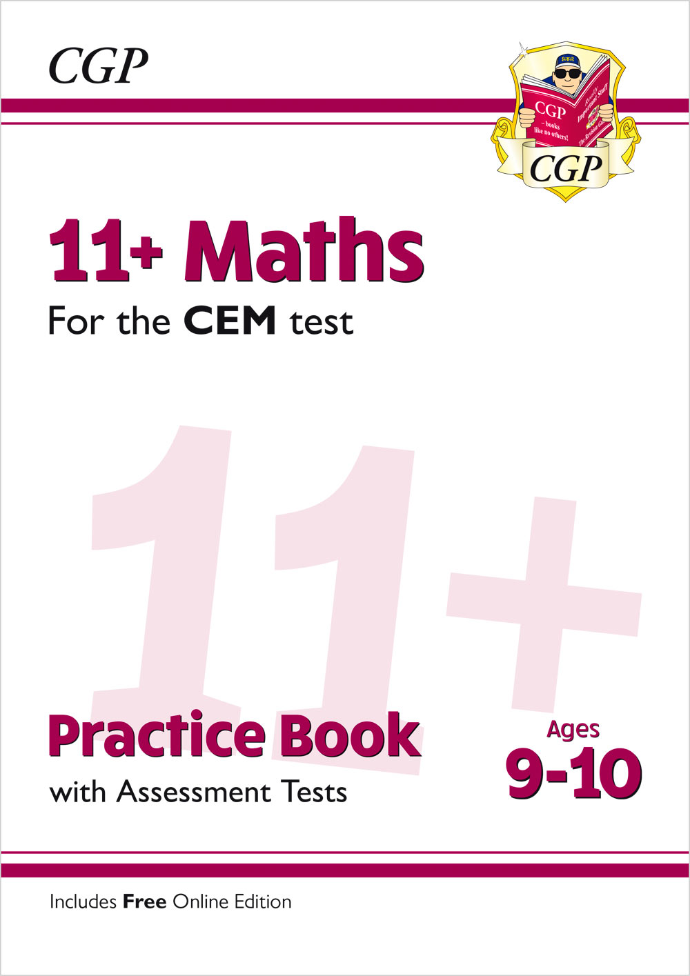 M5QDE2 - New 11+ CEM Maths Practice Book & Assessment Tests - Ages 9-10 (with Online Edition)